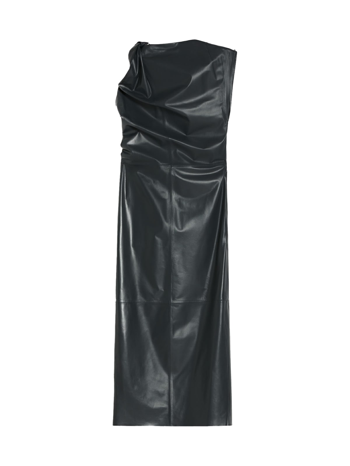 Sportmax PANCONE LEATHER DRESS
