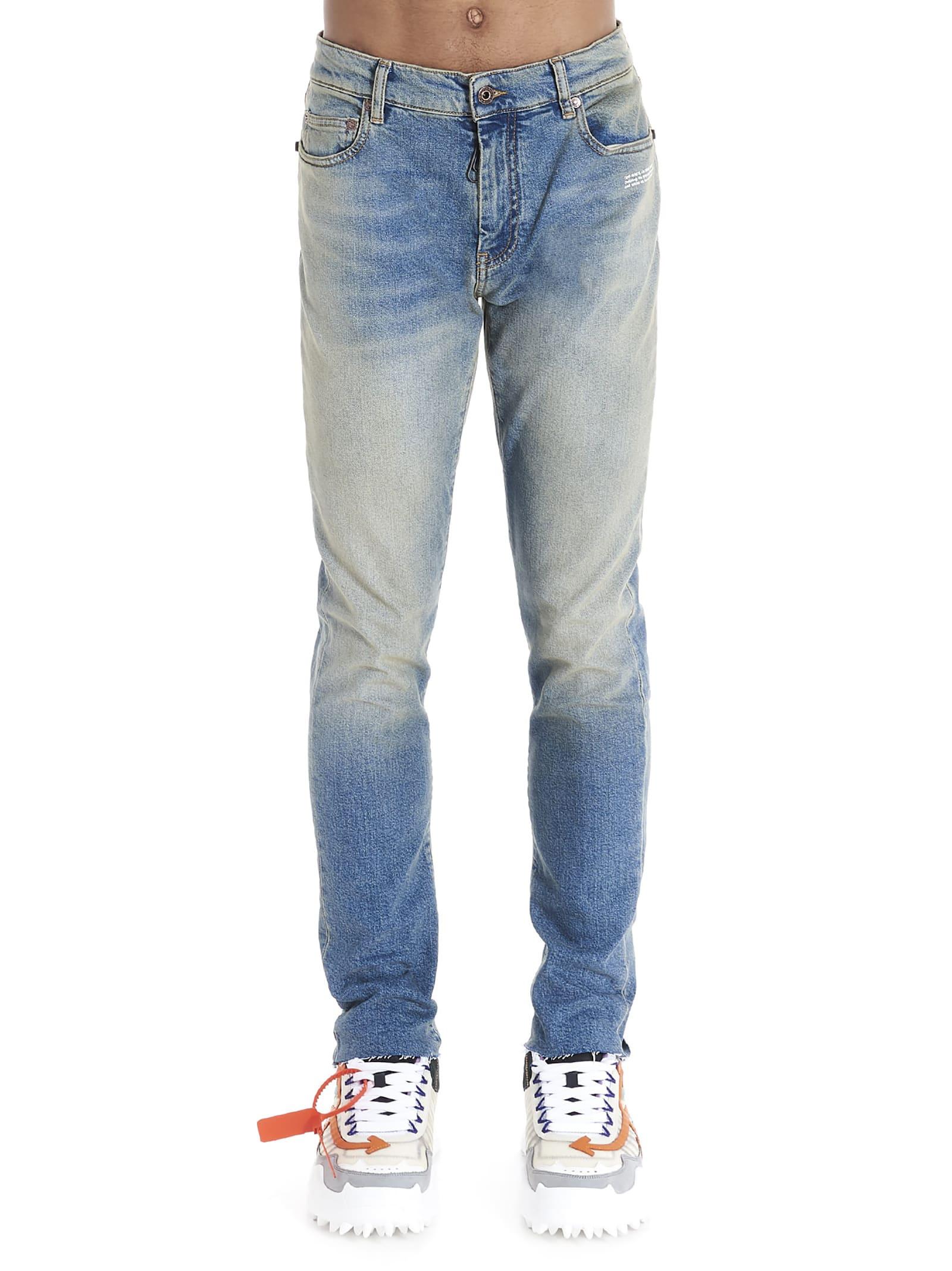 Off-white vintage Wash Jeans