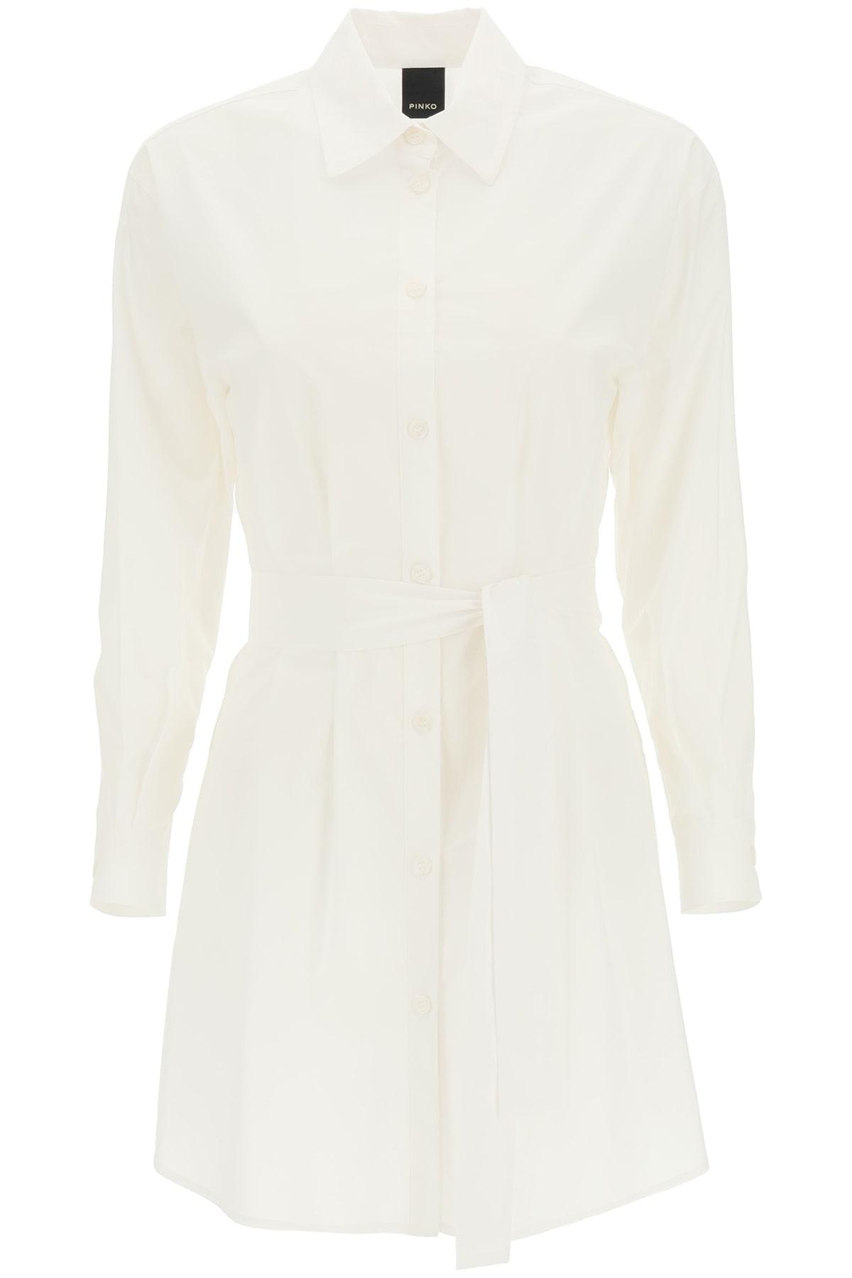 Buy Pinko Fanatico Mini Shirt Dress online, shop Pinko with free shipping