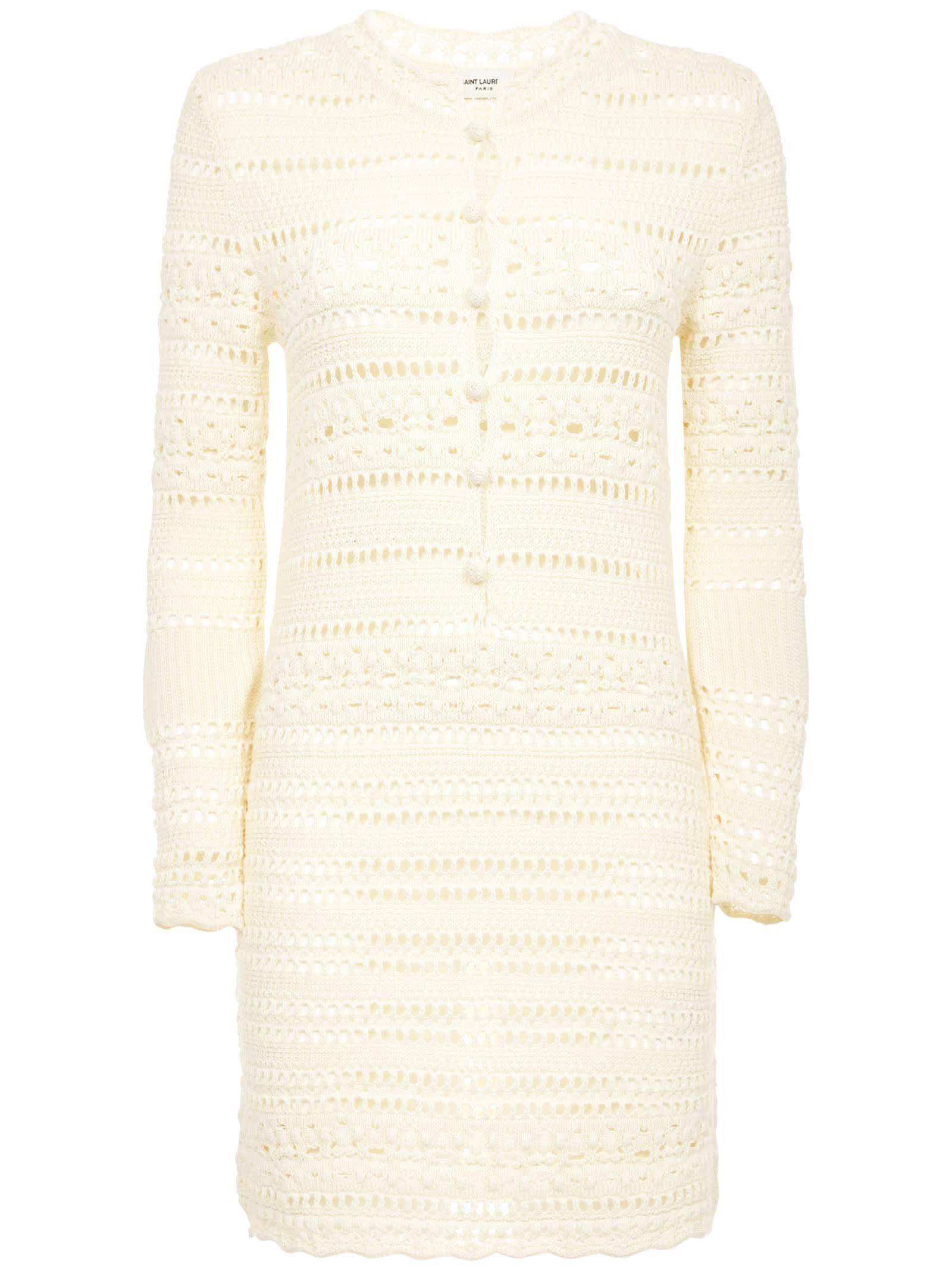 Buy Saint Laurent Jane Dress online, shop Saint Laurent with free shipping