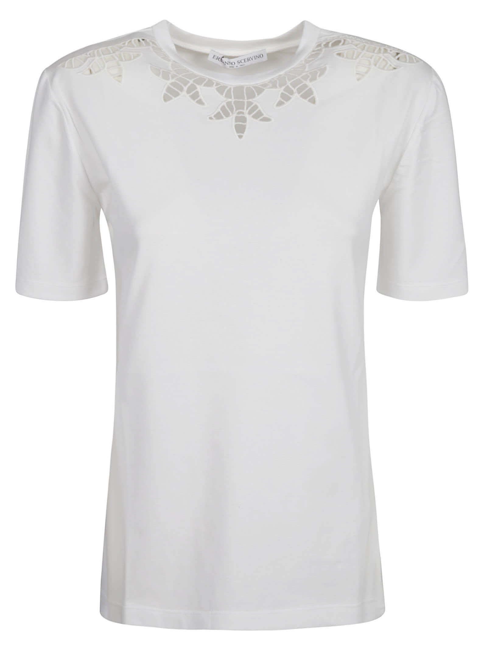 Ermanno Scervino PERFORATED T-SHIRT
