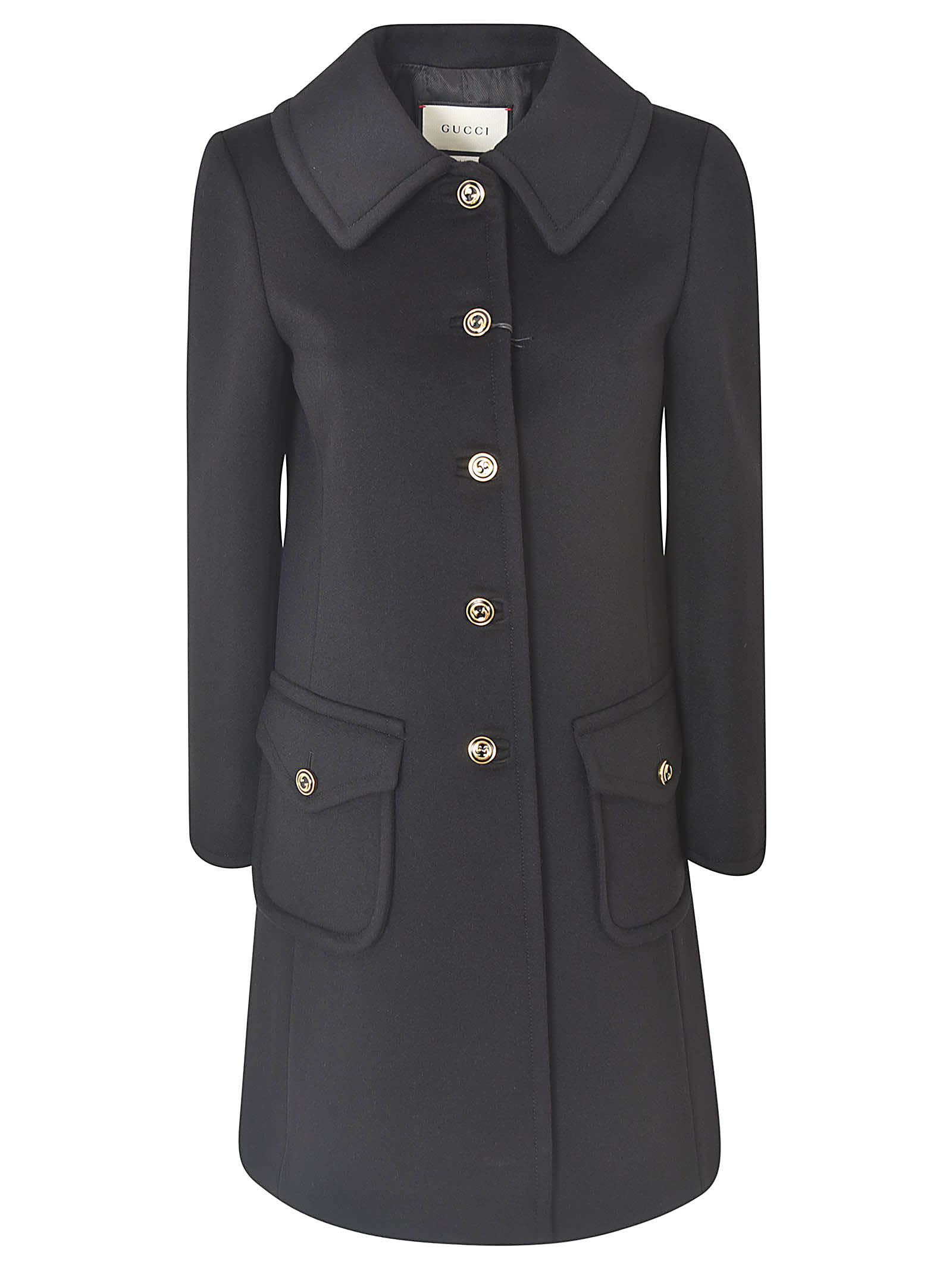 Gucci CLASSIC BUTTONED COAT