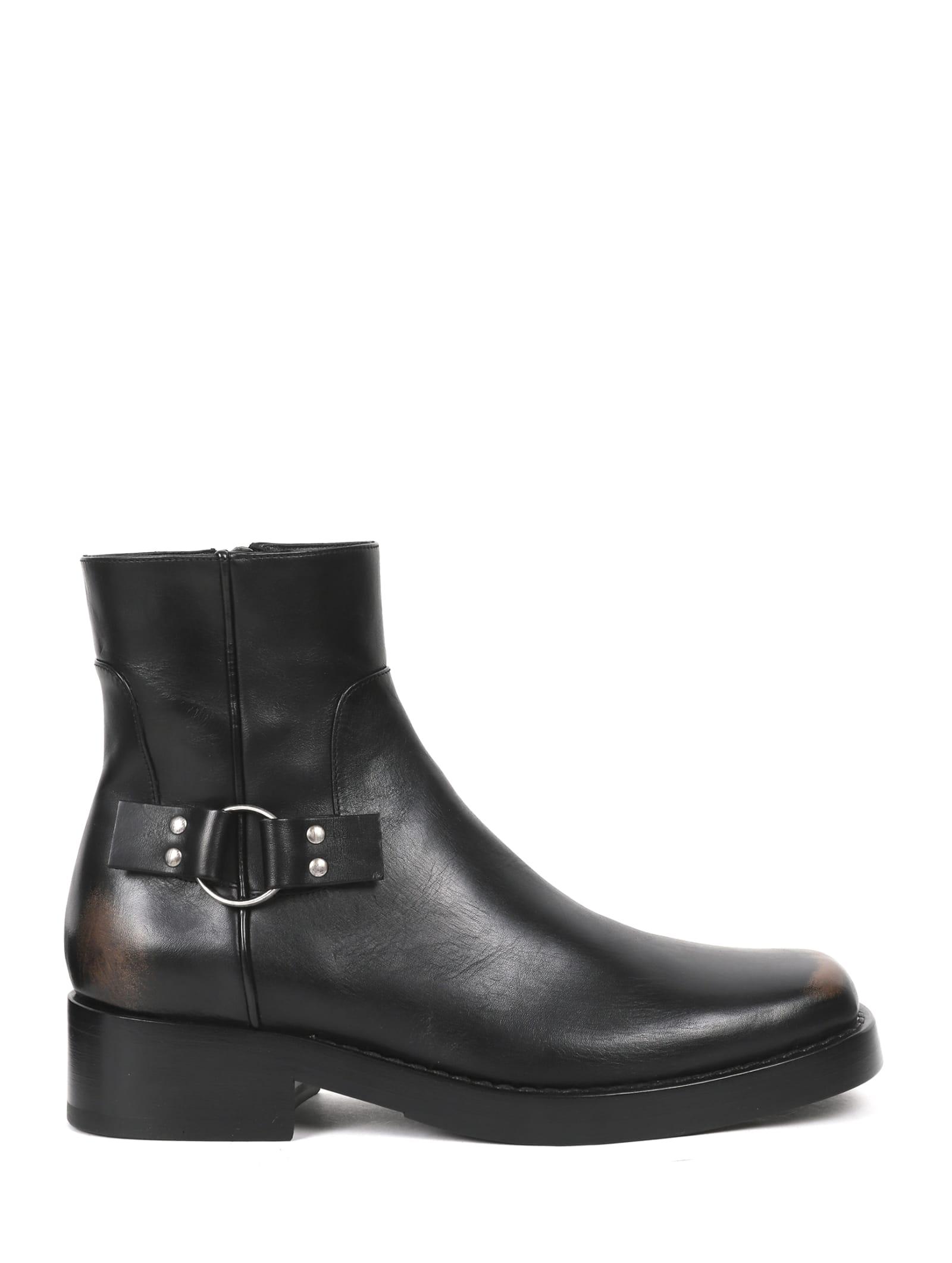 Raf Simons Boots BLACK BOOTS