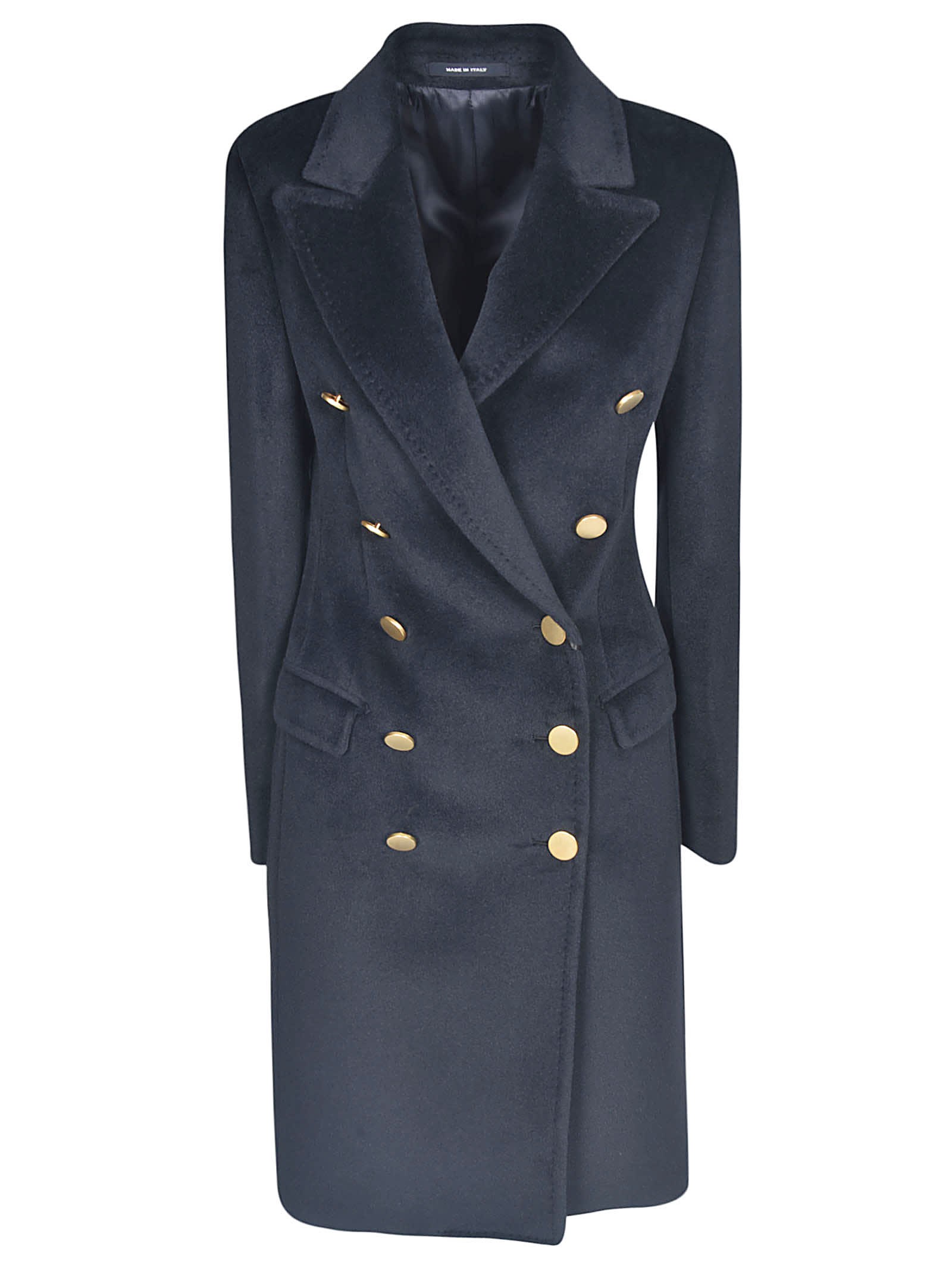 Tagliatore Double-breasted Mid-length Coat