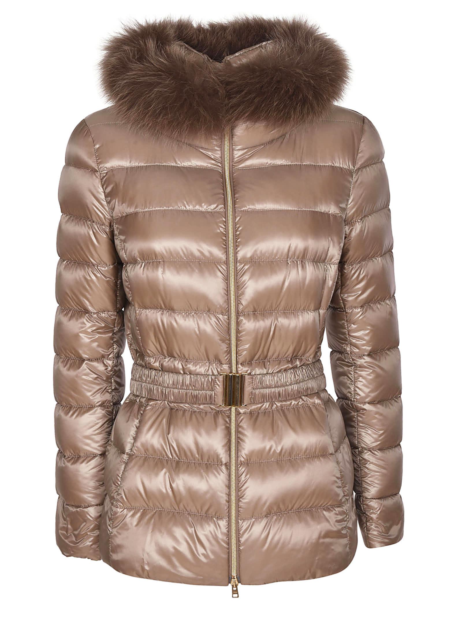 Herno Fur Trim Down Jacket
