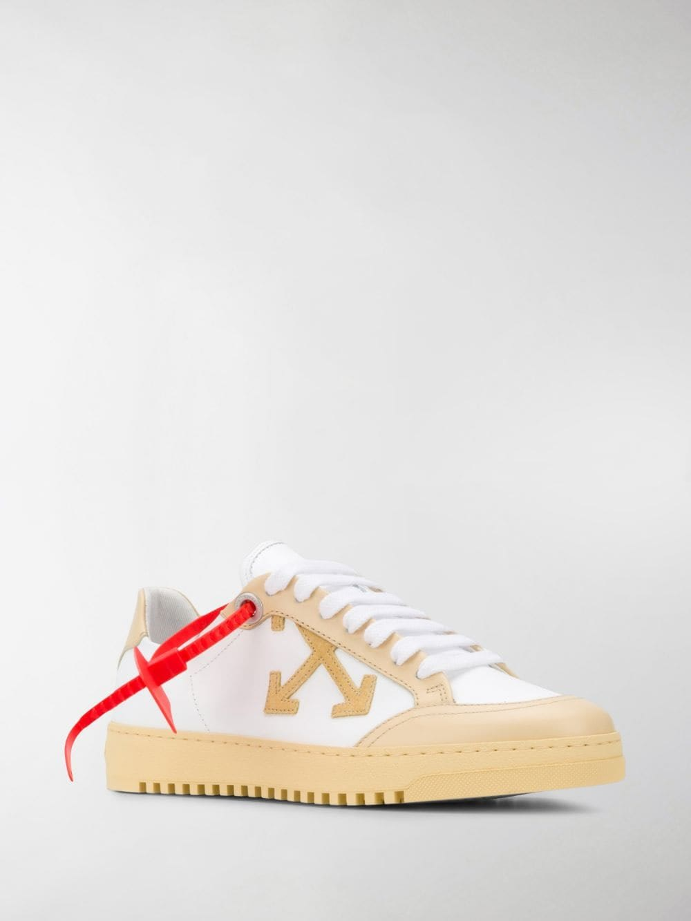 Off-White Arrows Leather Sneakers