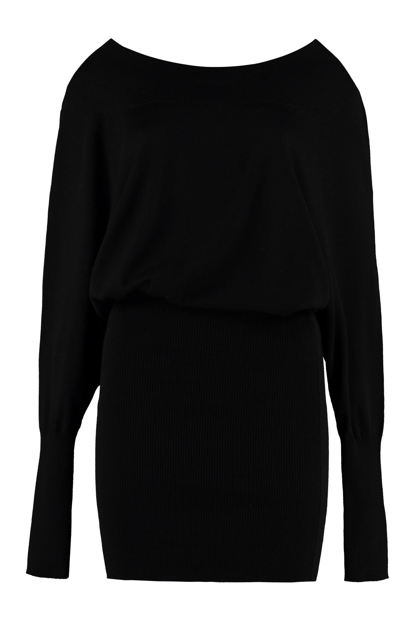 Buy Parosh Knitted Dress online, shop Parosh with free shipping