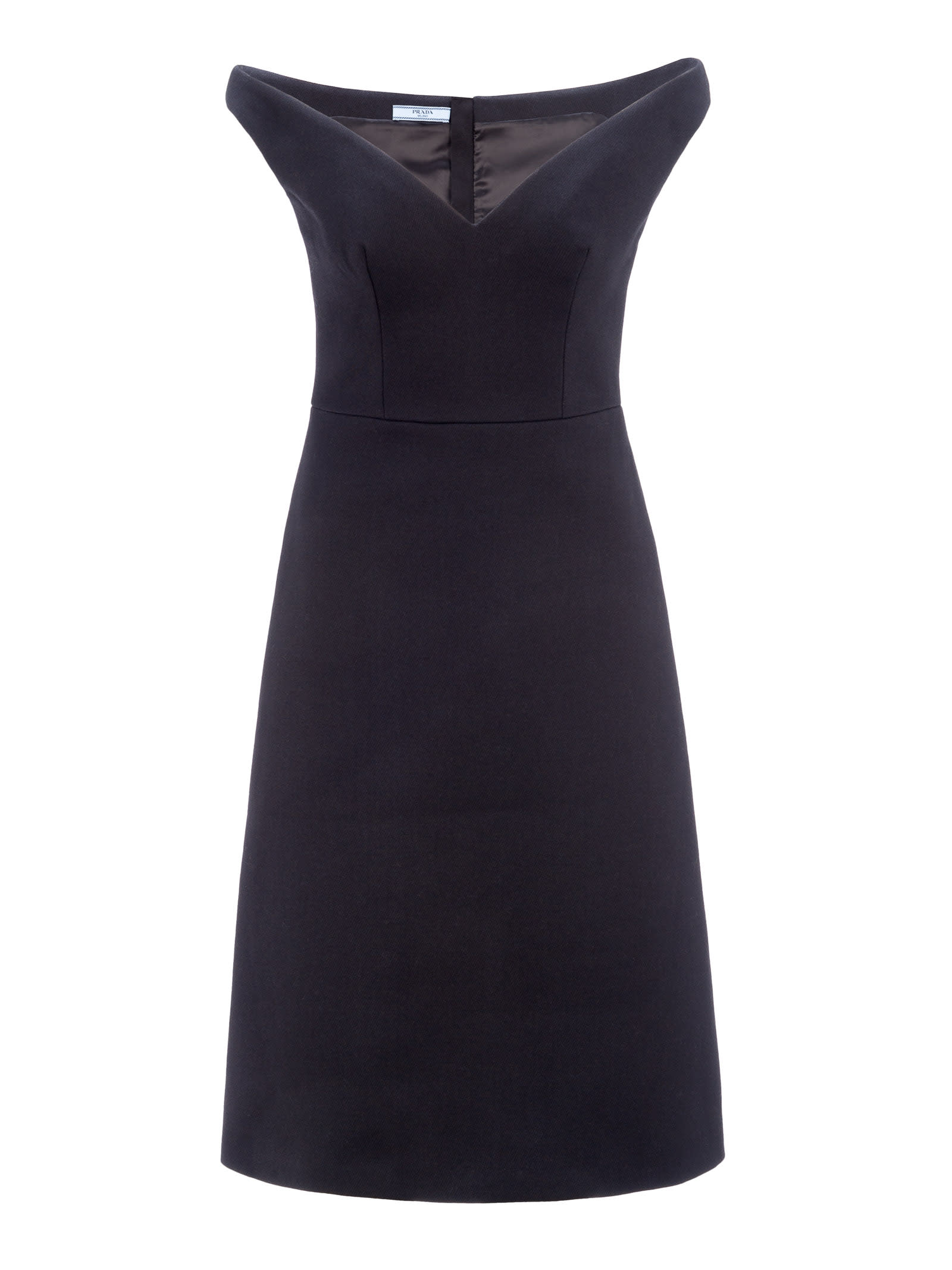 Prada Natté Gabardine Dress