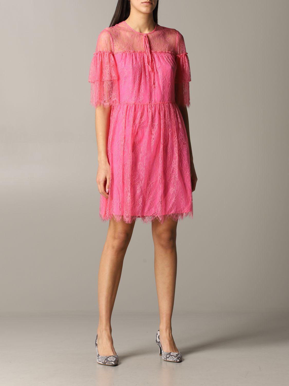 Buy Be Blumarine Dress Be Blumarine Lace Dress online, shop Be Blumarine with free shipping