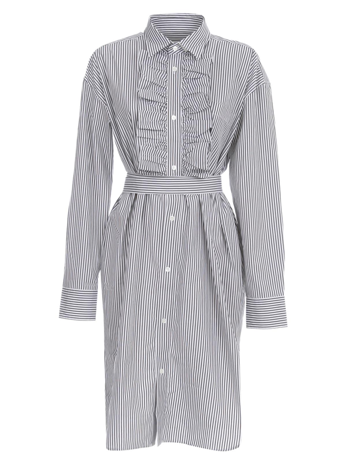 Buy Essentiel Antwerp Vike Popeline Dress L/s Shirt Collar online, shop Essentiel Antwerp with free shipping