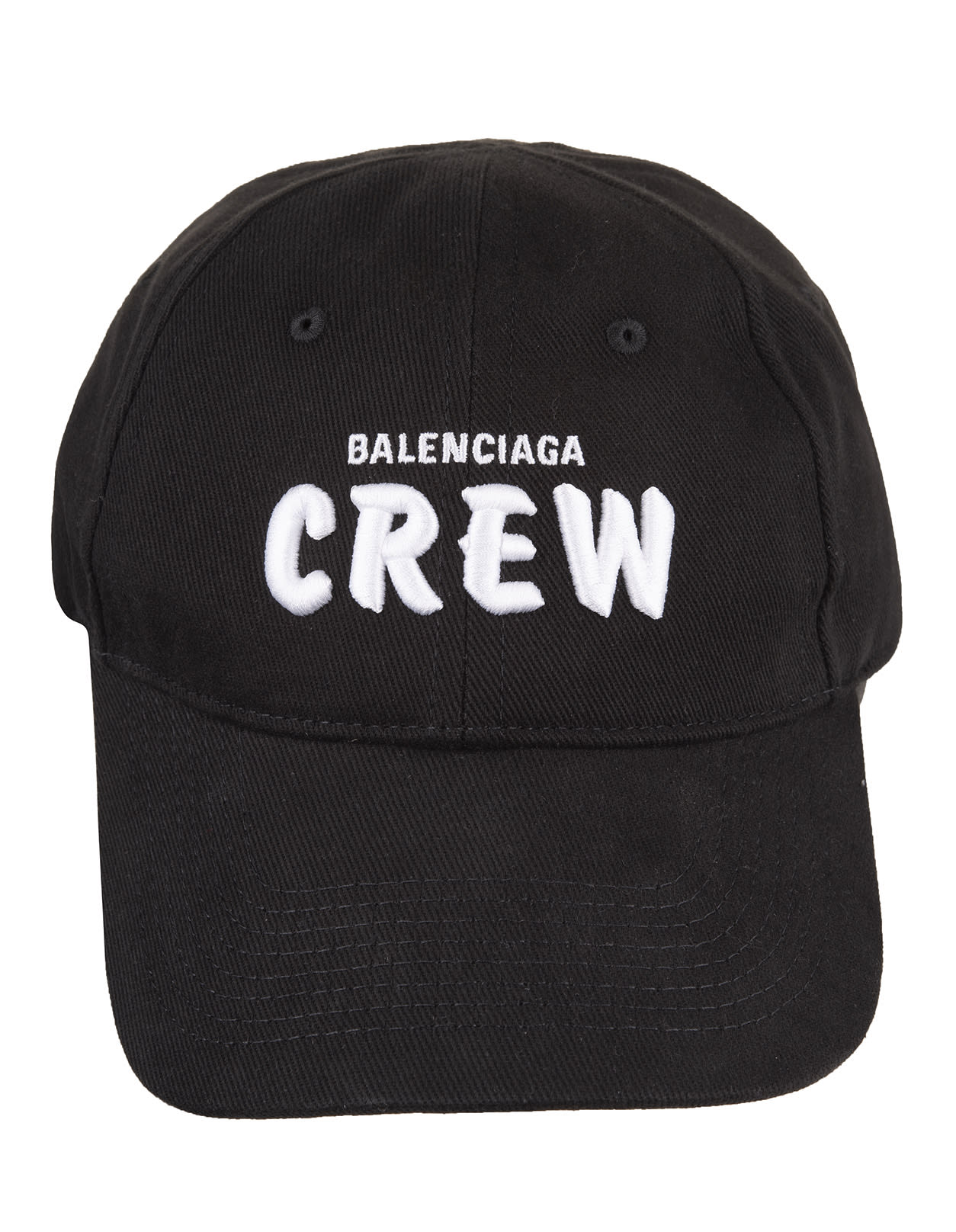 Black crew Man Baseball Cap