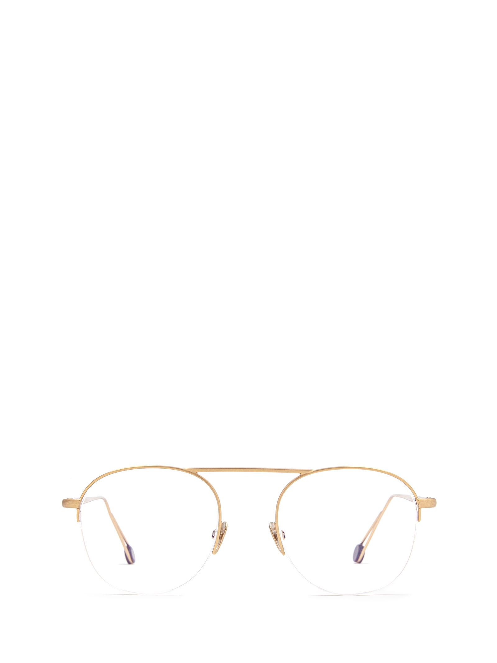 AHLEM Ahlem Voltaire Rose Gold Brushed Glasses