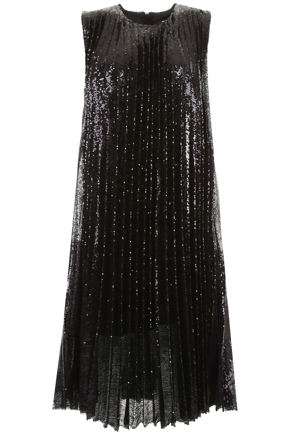 Buy MSGM Micro Sequin Dress online, shop MSGM with free shipping
