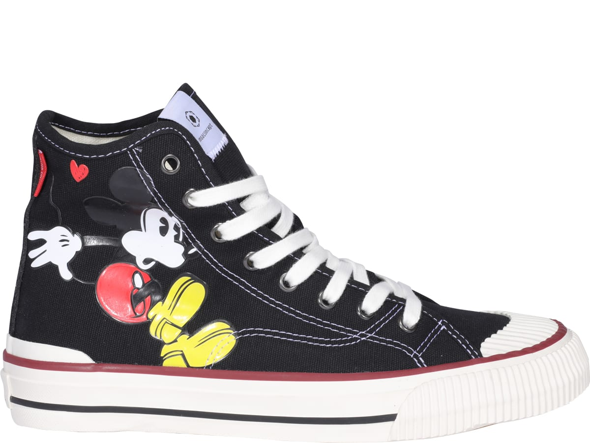 M.o.a. Master Of Arts High tops M.O.A. MASTER OF ARTS MICKEY HIGH TOP SNEAKERS