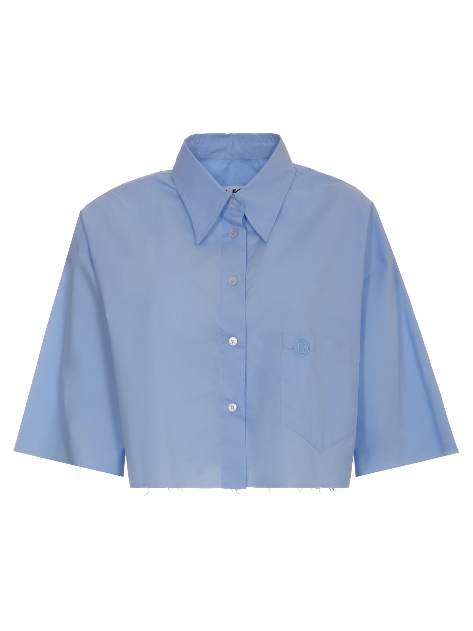 Mm6 Maison Margiela CROPPED SHIRT
