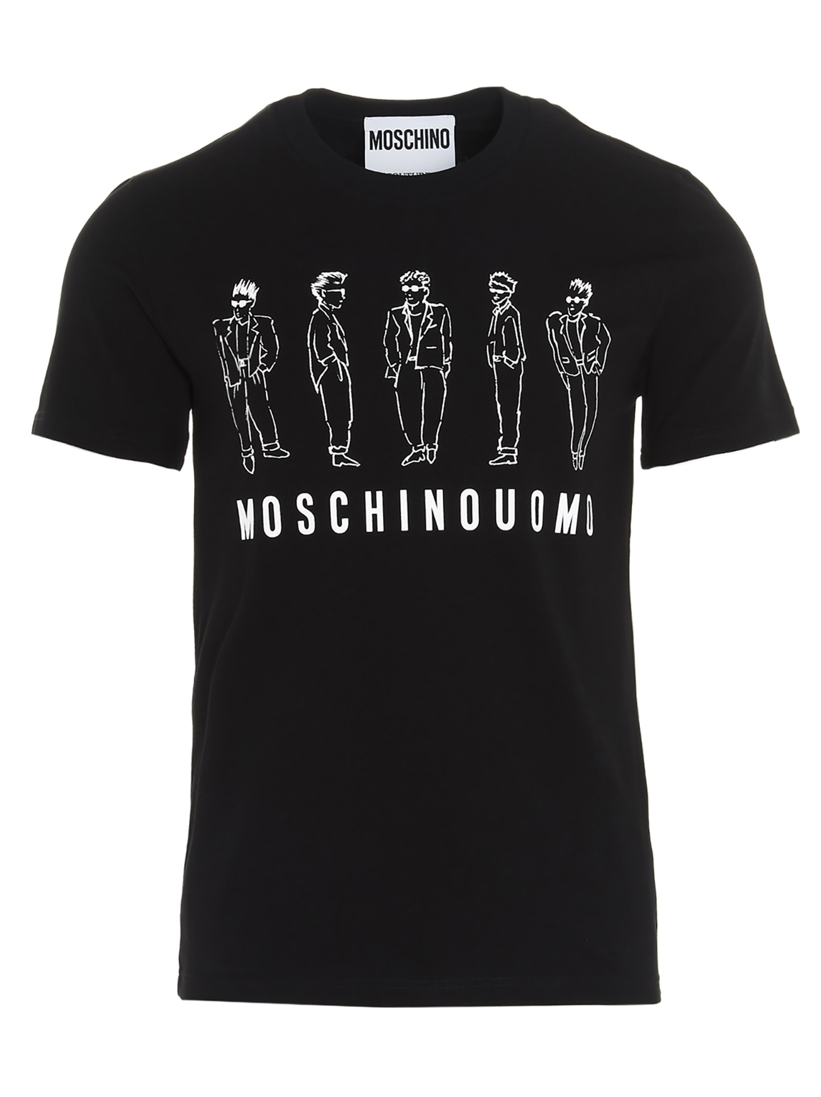 Moschino archive Logo T-shirt