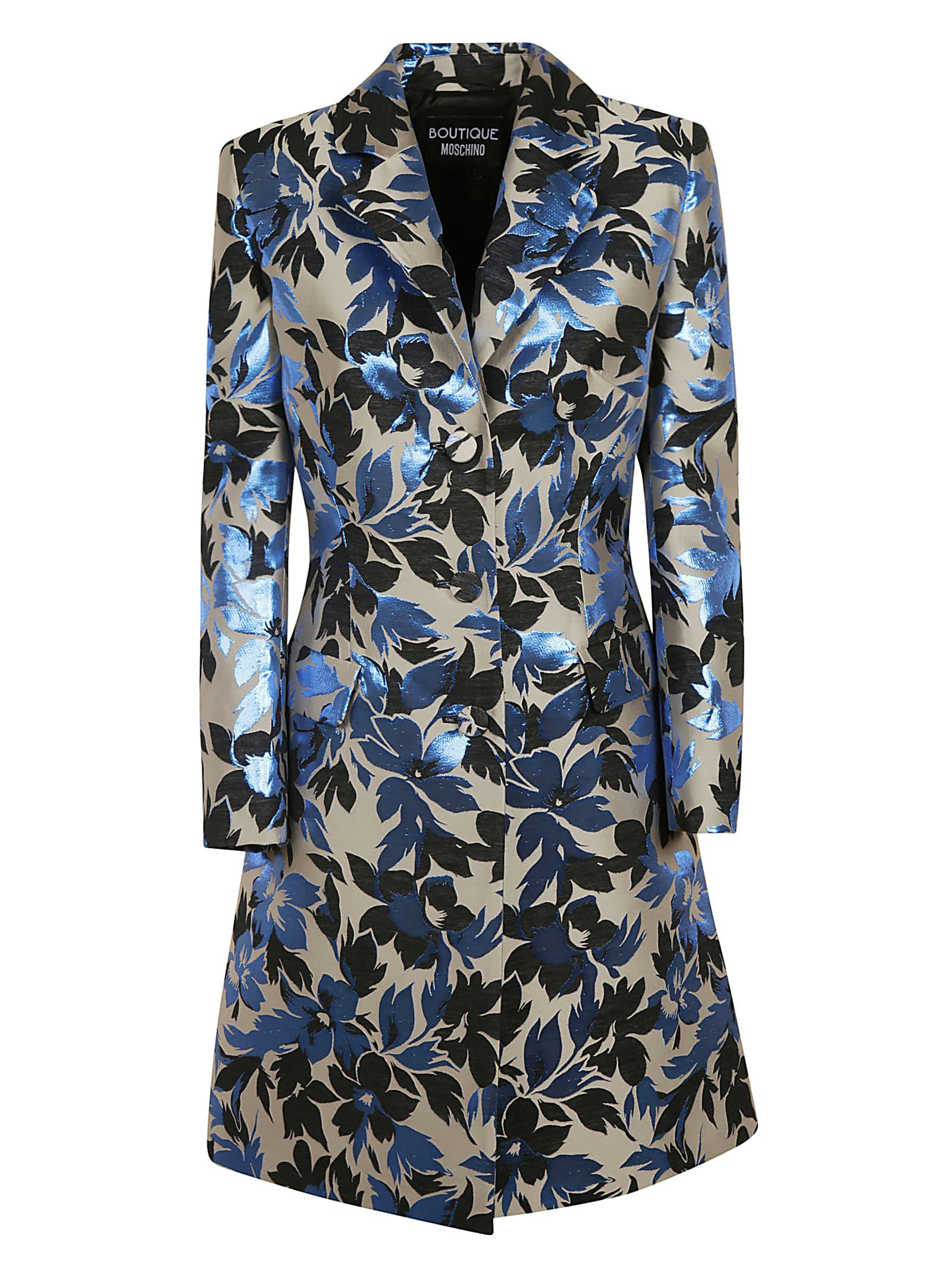 Buy Moschino Floral Print Mid-length Dress online, shop Moschino with free shipping