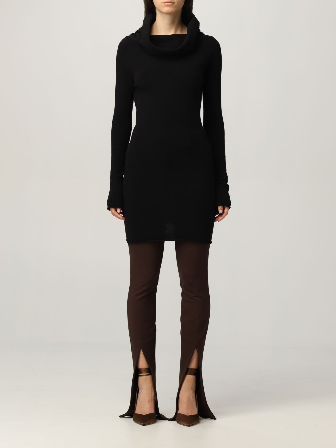 Buy The Attico Dress The Attico Dress In Stretch Wool Blend online, shop The Attico with free shipping