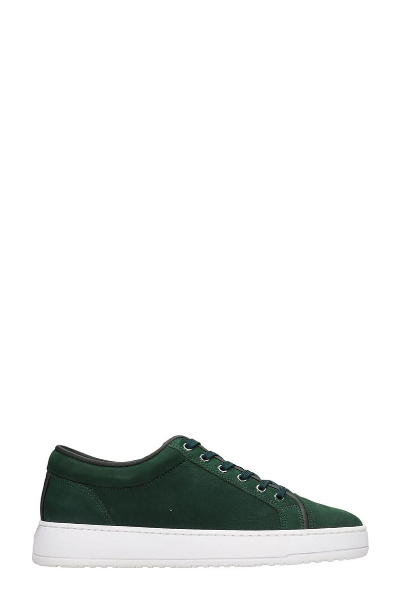 Etq Lt 01 Sneakers In Green Nubuck