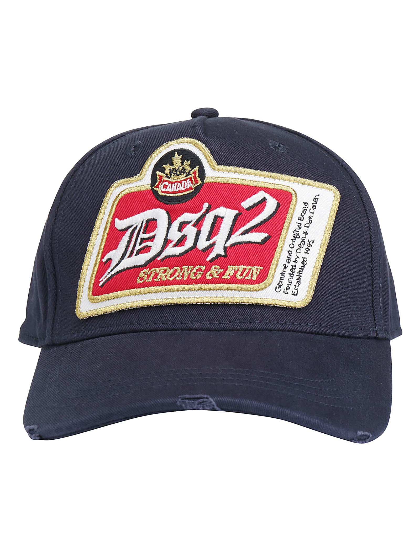 Dsquared2 Baseball Hat In Blue