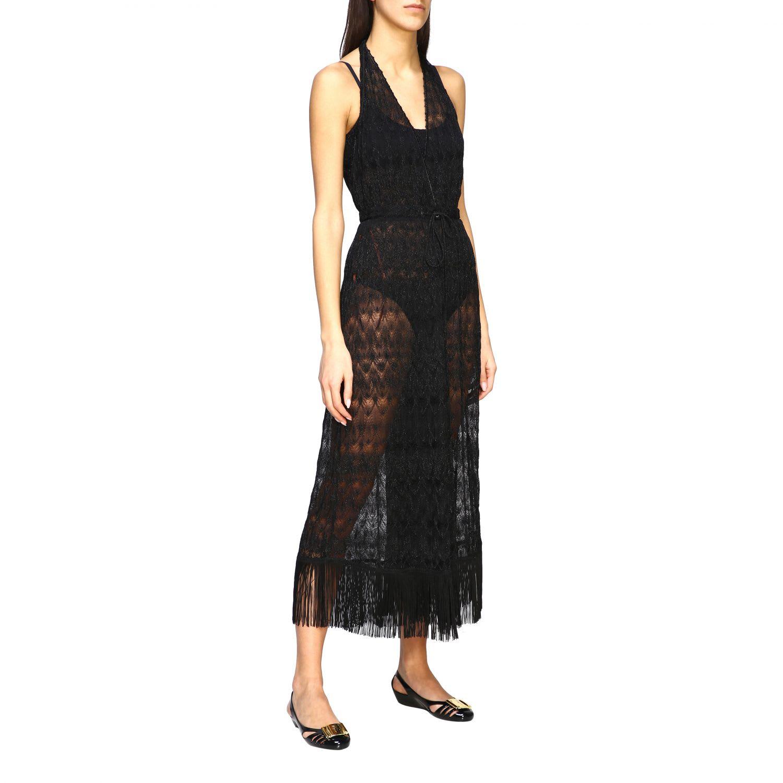 Buy Missoni Mare Tunic Missoni Mare Long Jacquard Dress online, shop Missoni with free shipping
