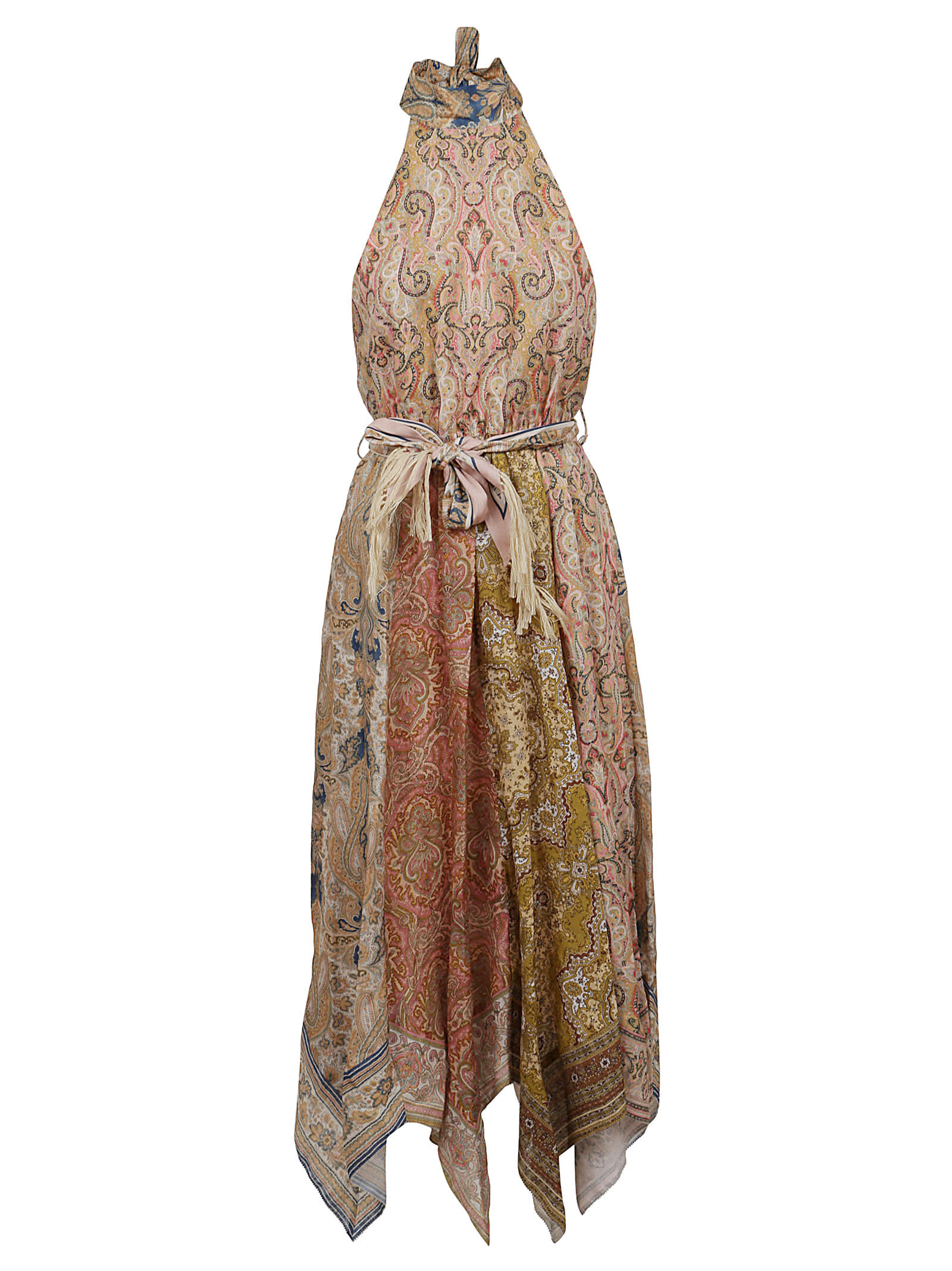 Buy Zimmermann Freja Hanky Hem Maxi Dress online, shop Zimmermann with free shipping
