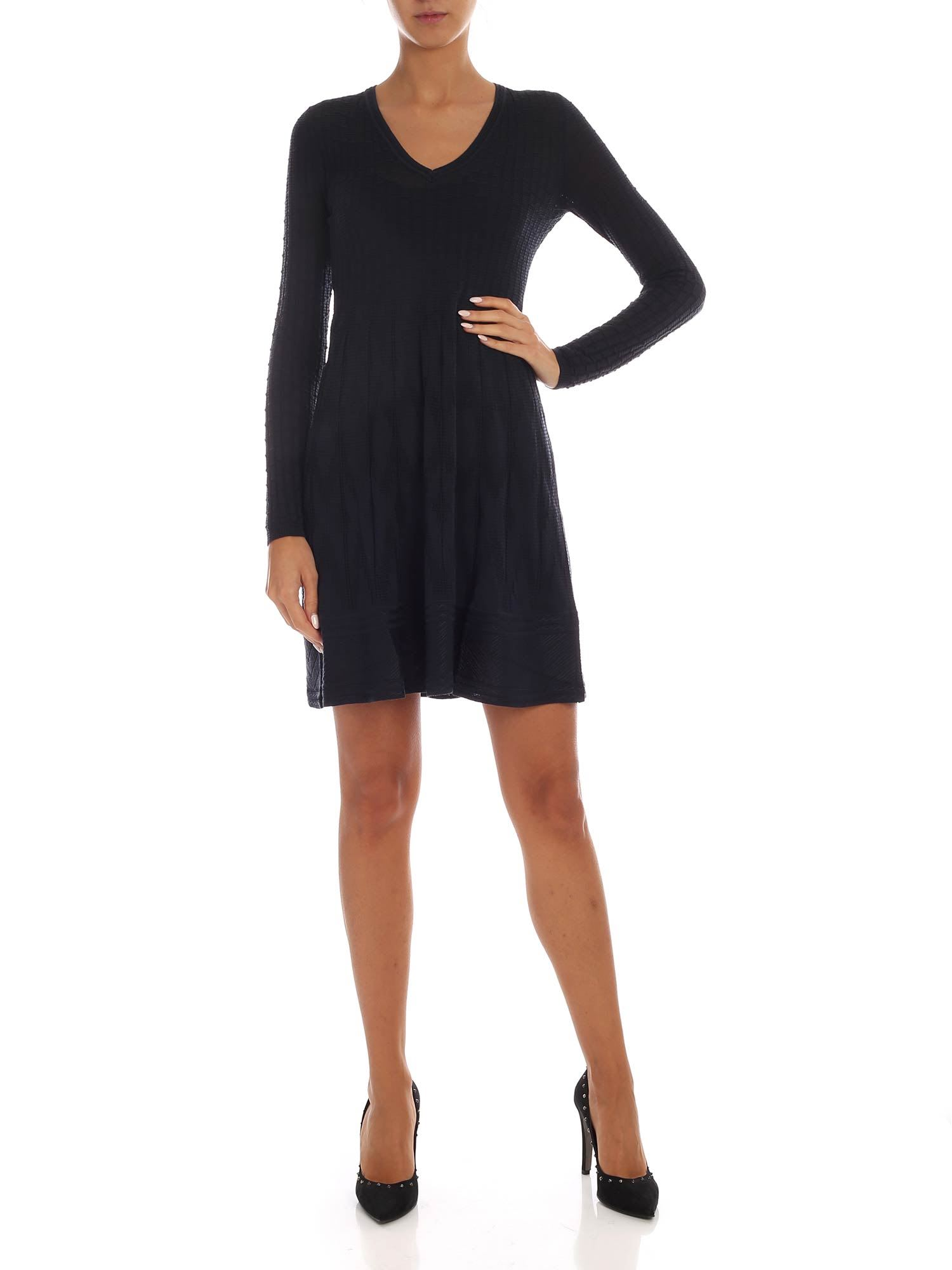 Buy M Missoni - Knitted Dress online, shop M Missoni with free shipping