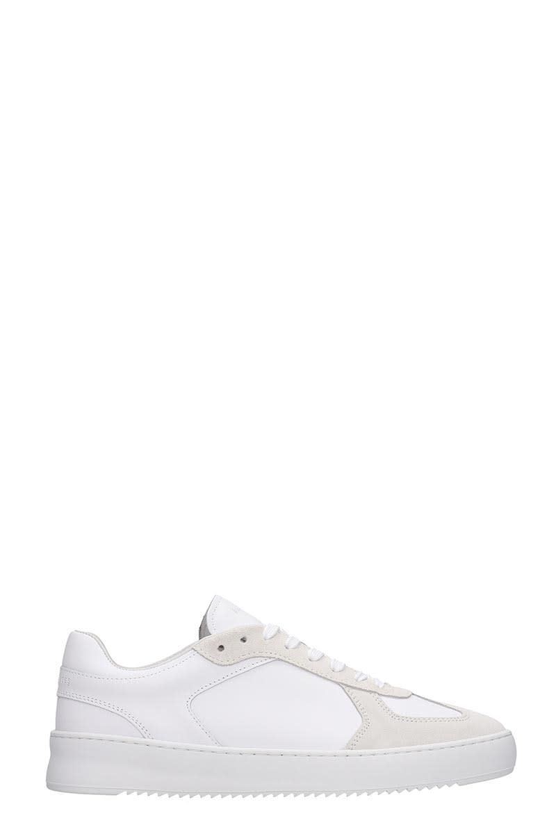 Filling Pieces Field Ripple Sneakers In White Leather