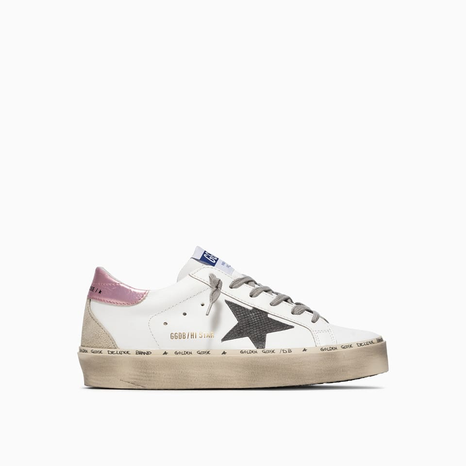 Buy Golden Goose Deluxe Brand Hi Star Sneakers Gwf00119 F001941 online, shop Golden Goose shoes with free shipping