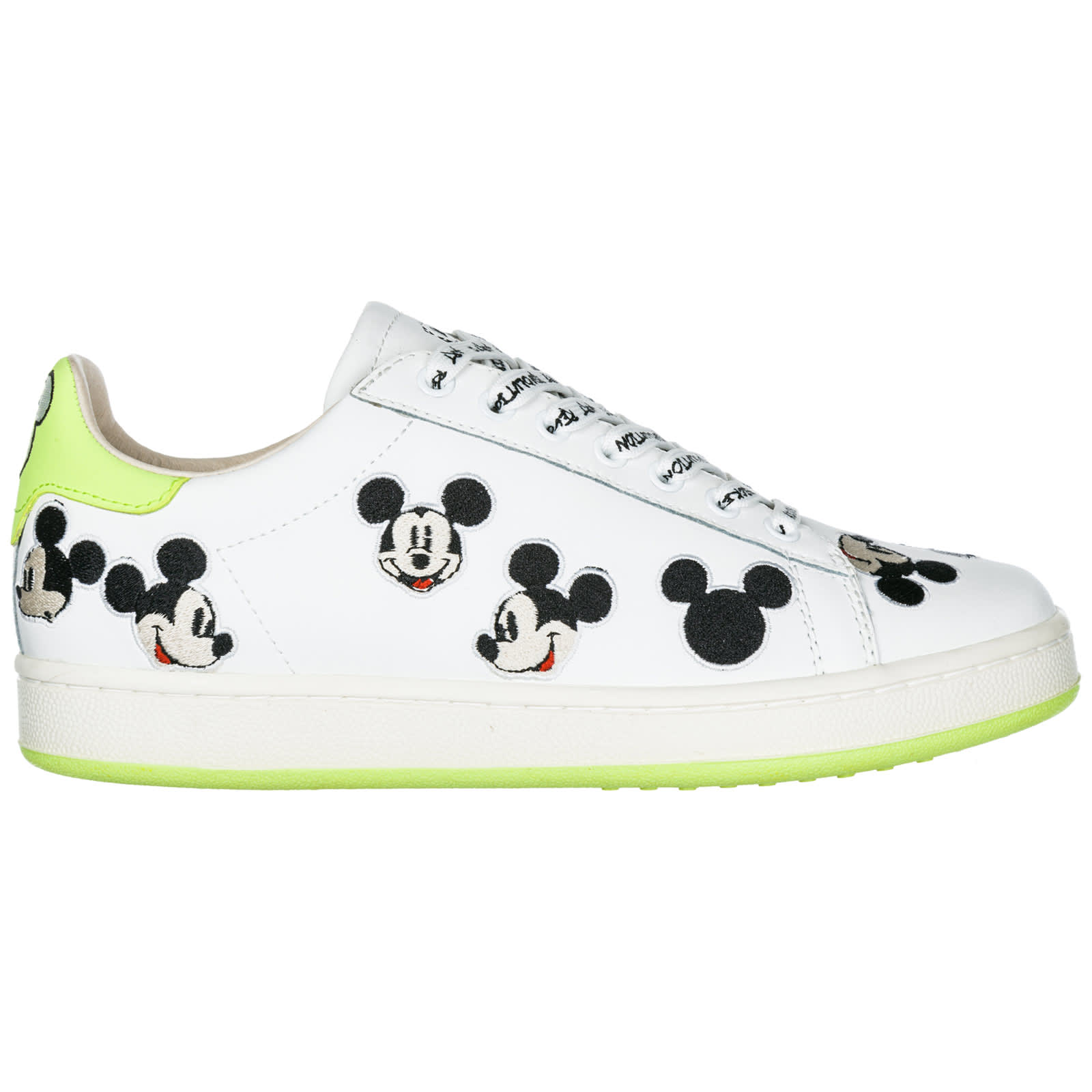 M Mickey Shoes Leather Of Sneakers o Mouse aMaster Disney Arts Trainers 7fm6vYgIby