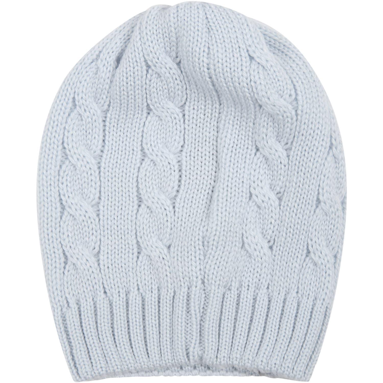Ligh-blue Hat For Baby Boy