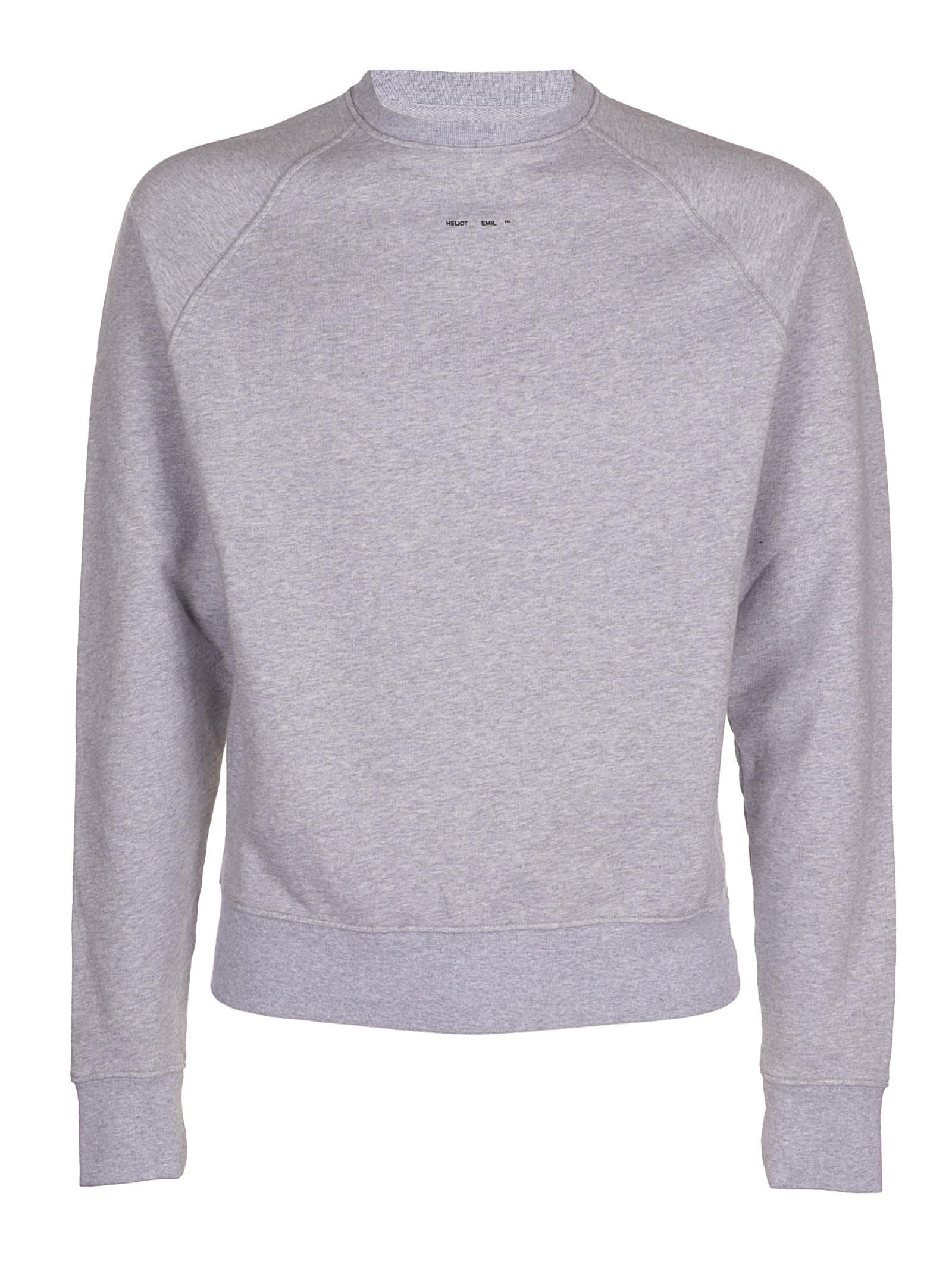 Sweater W Logo Print