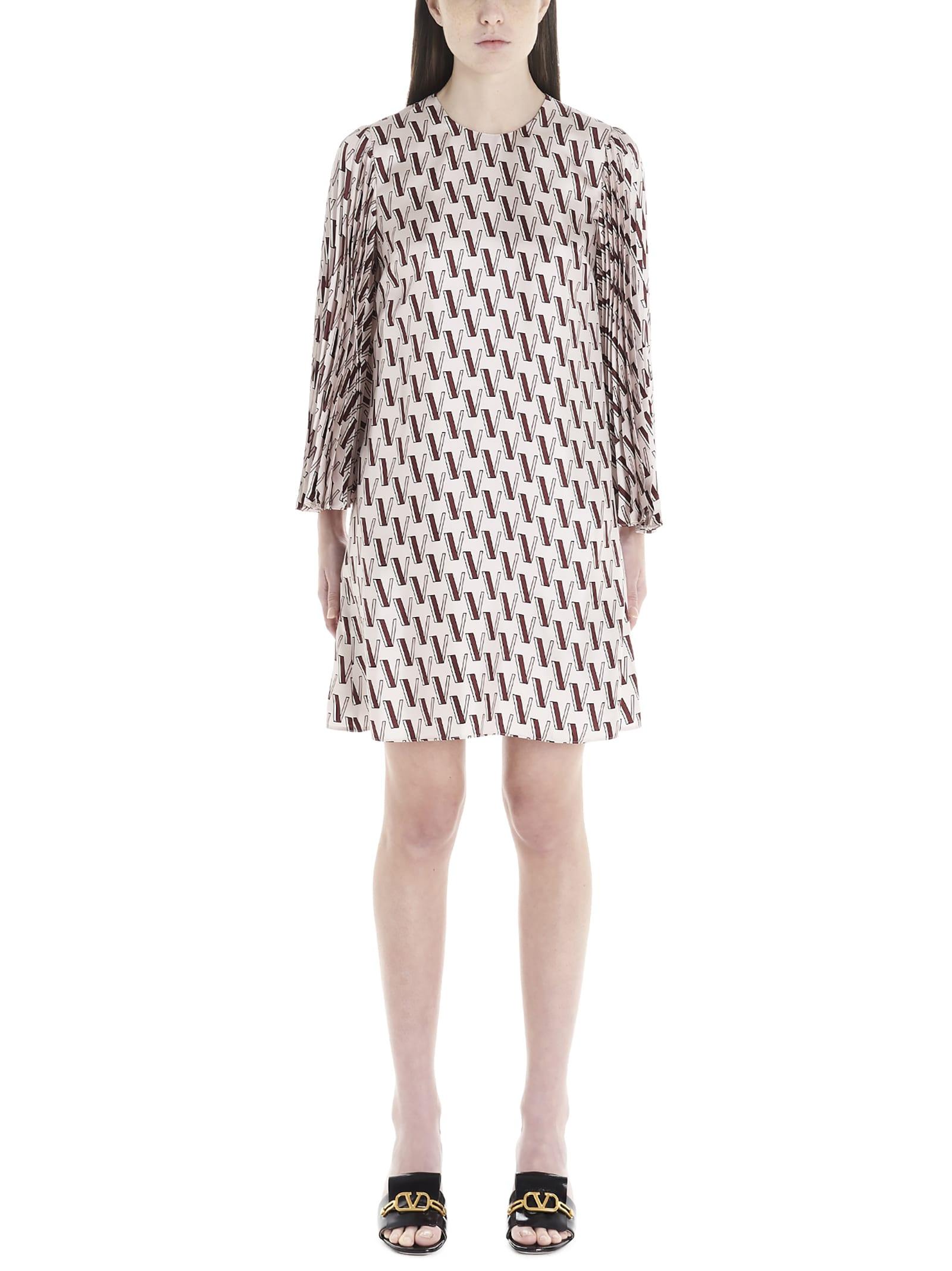Buy Valentino vlogo Dress online, shop Valentino with free shipping