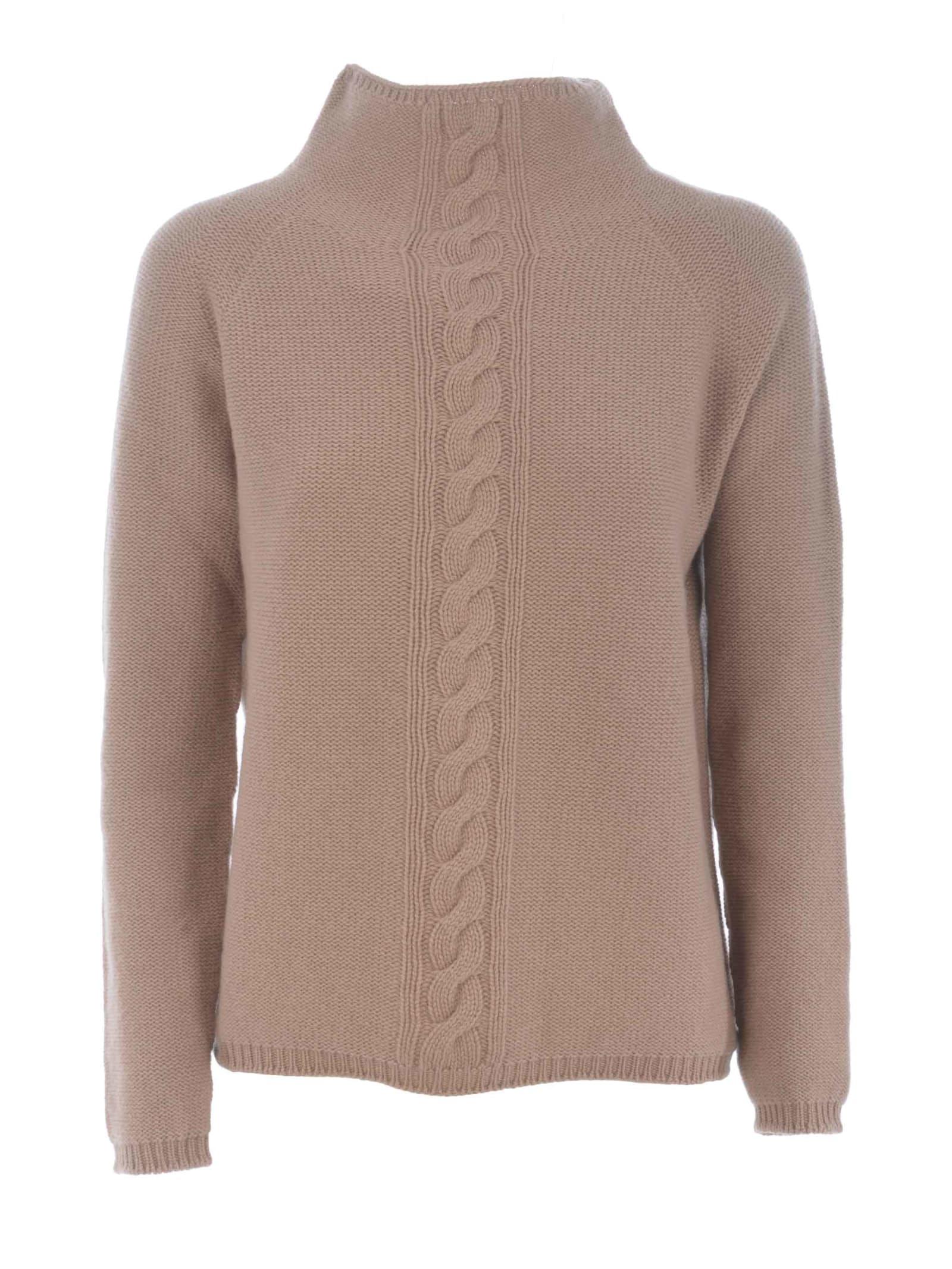 Max Mara Sweater In Cammello