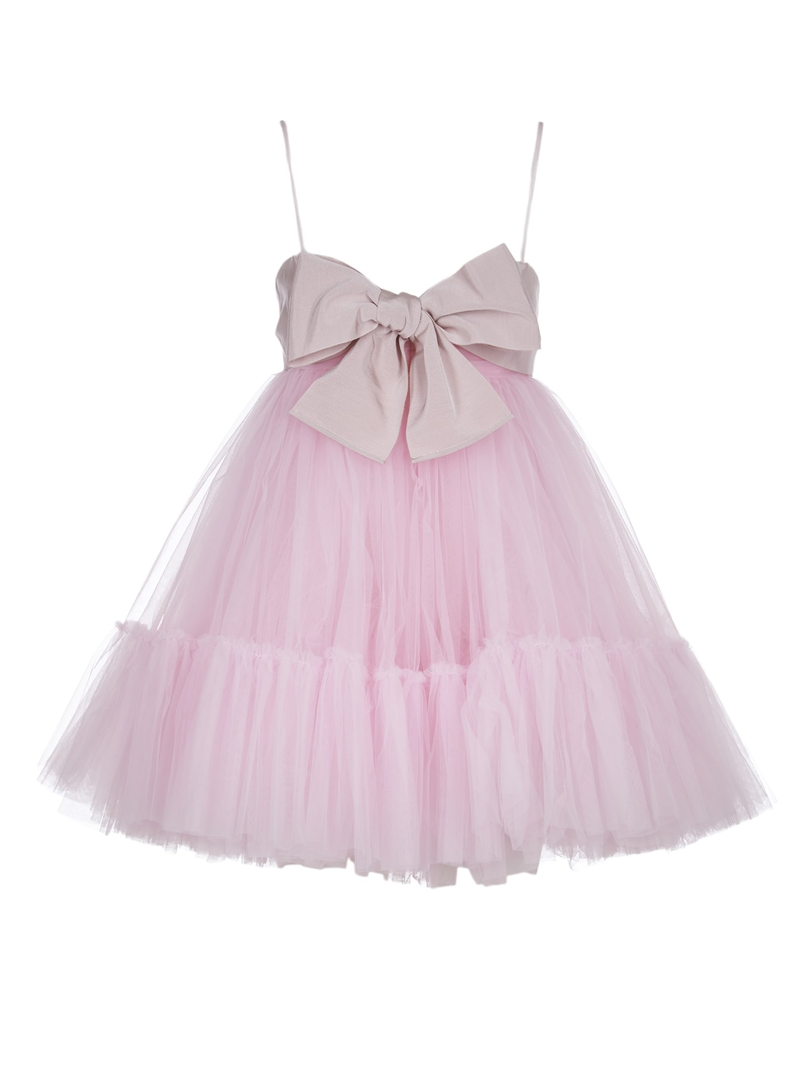 Brognano Pink Dress With Bow