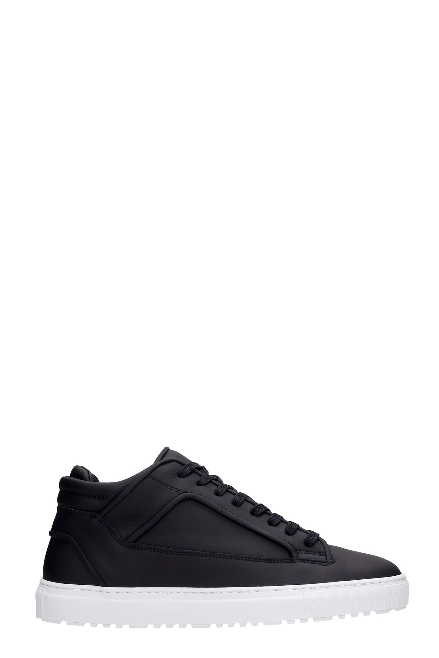 Mt 02 Sneakers In Black Leather