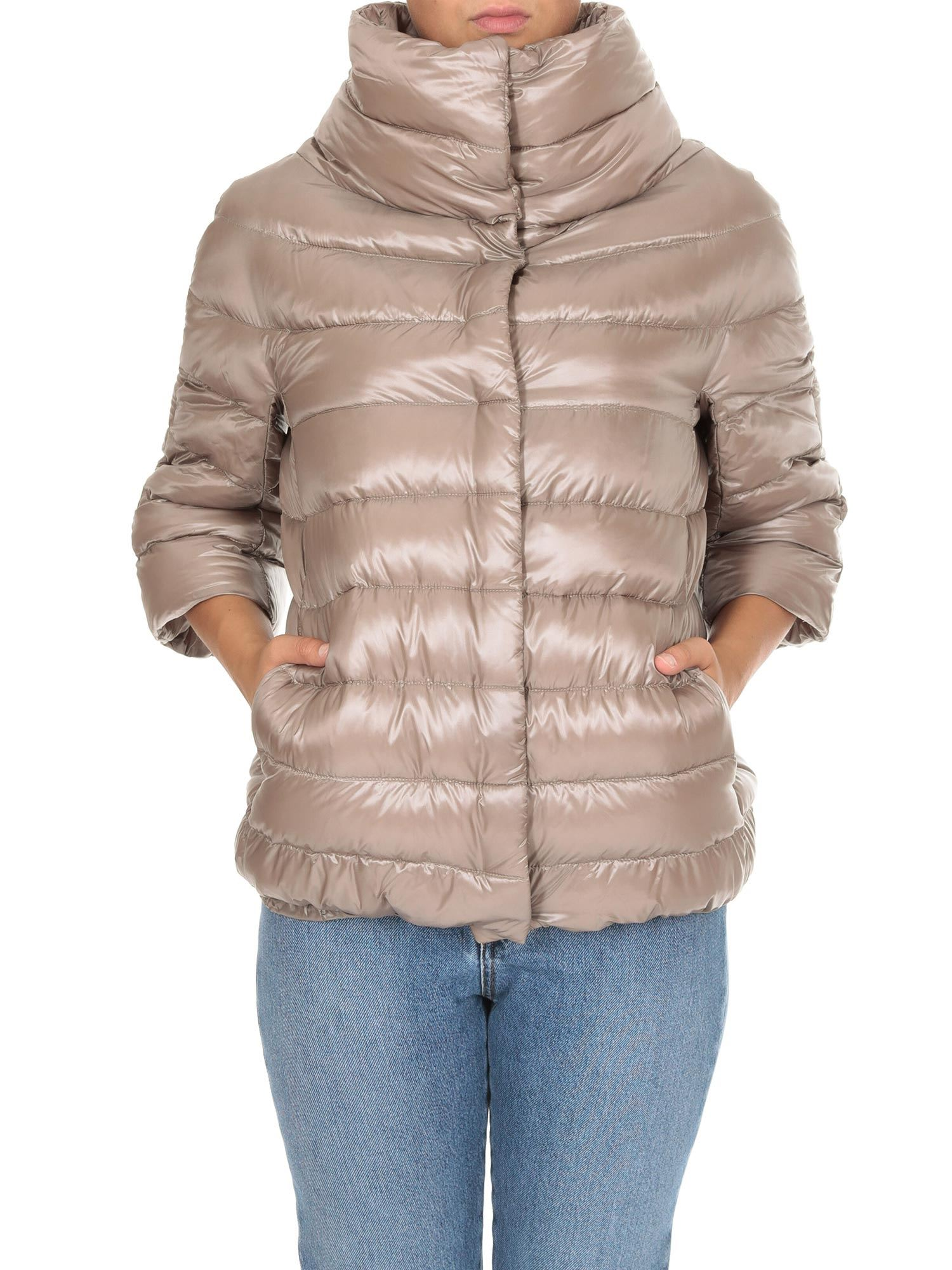 Herno Aminta 3/4 Sleeved Down Jacket
