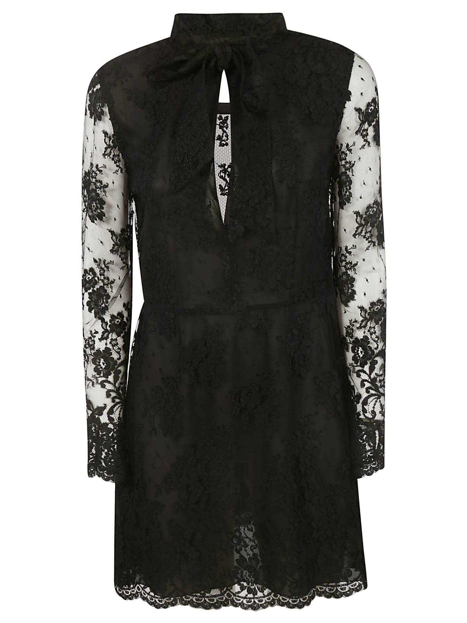 Photo of  Saint Laurent Lace Dress- shop Saint Laurent  online sales
