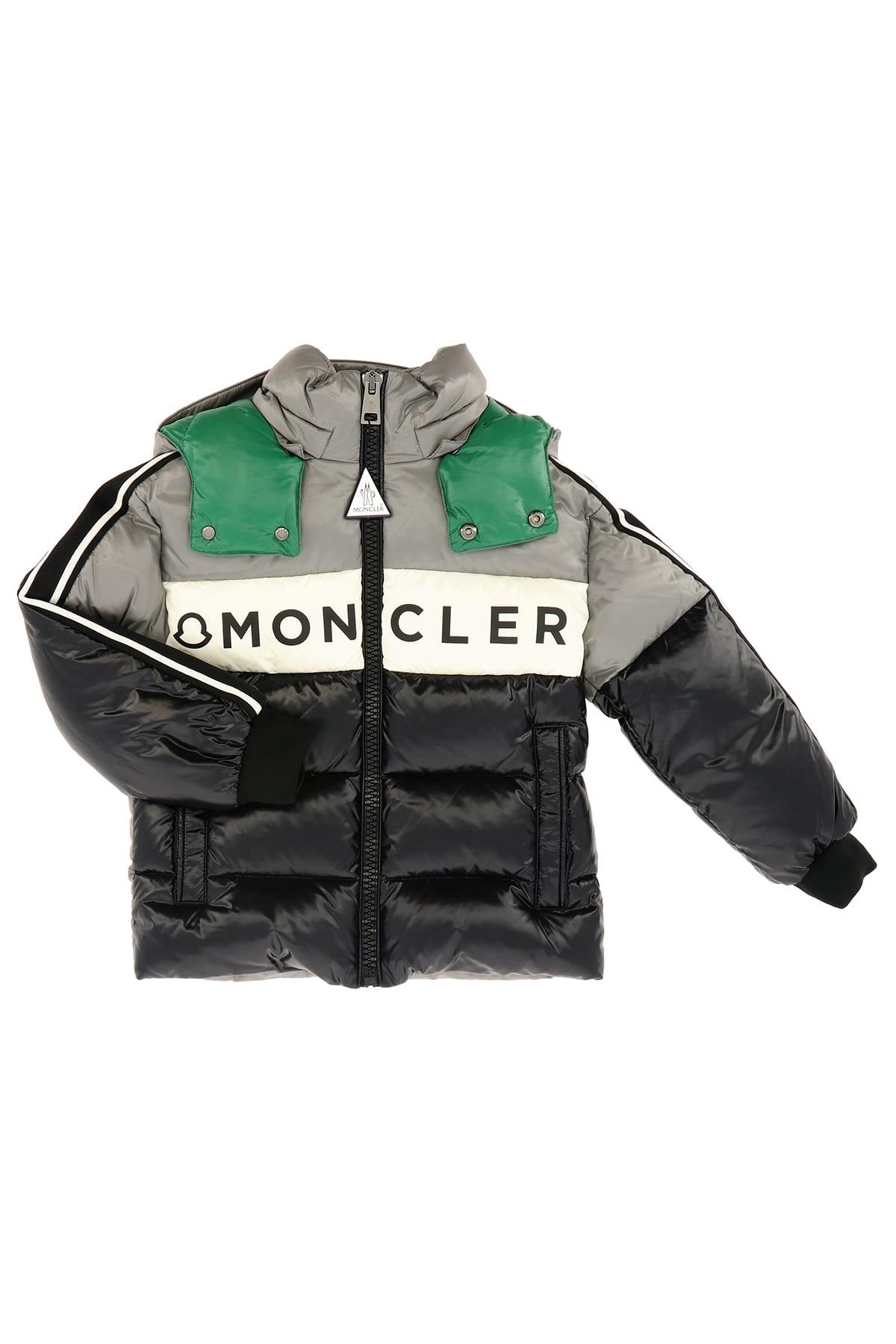 Moncler Kids' Febrege Dowjn Jacket In Grigio