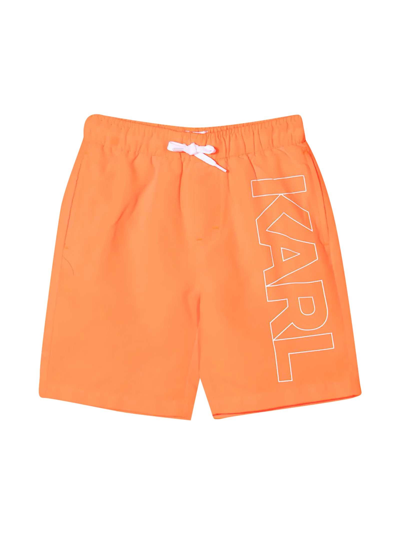 Teen Swim Shorts With Print