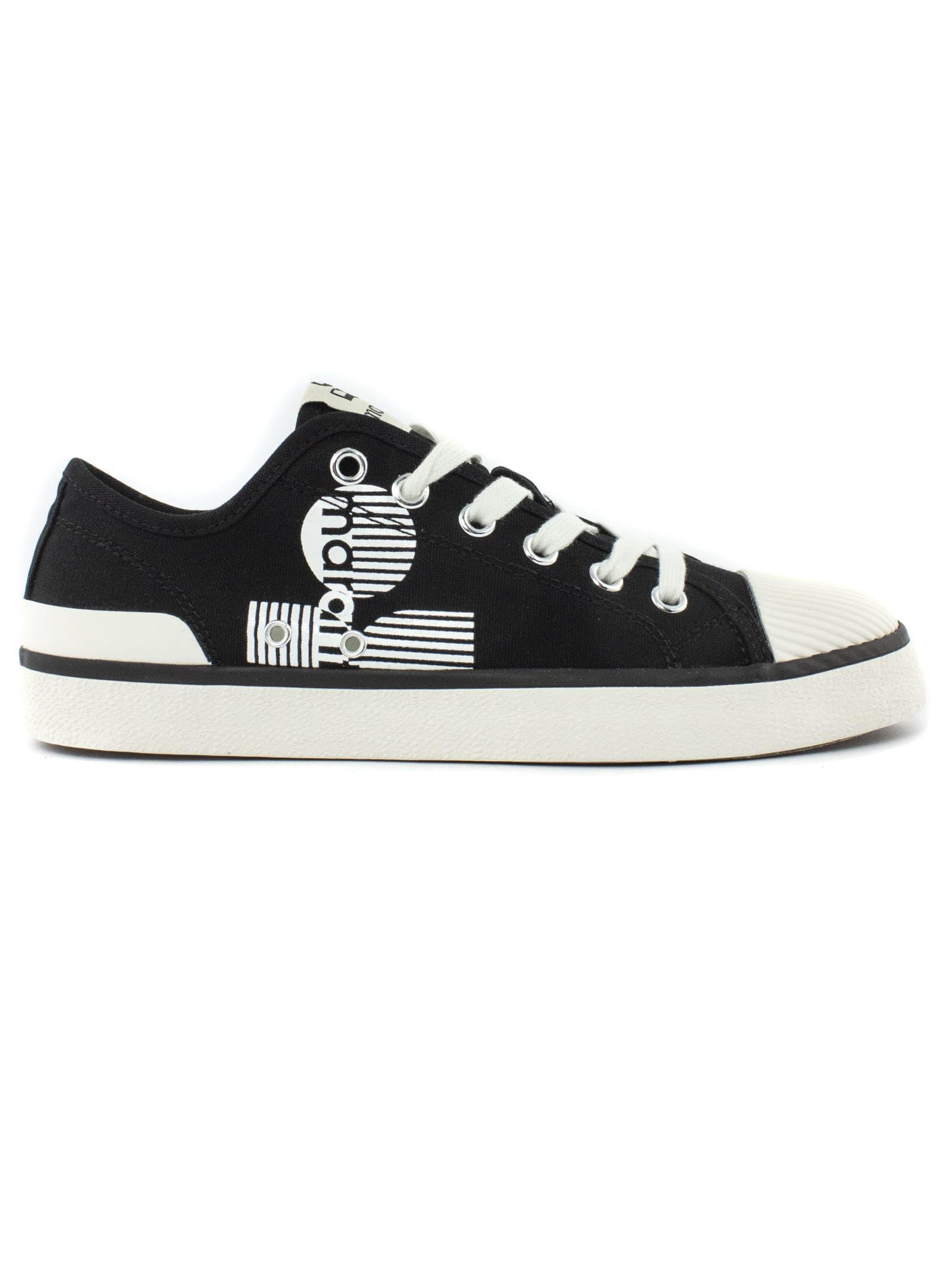 Isabel Marant Black Cotton Sneakers