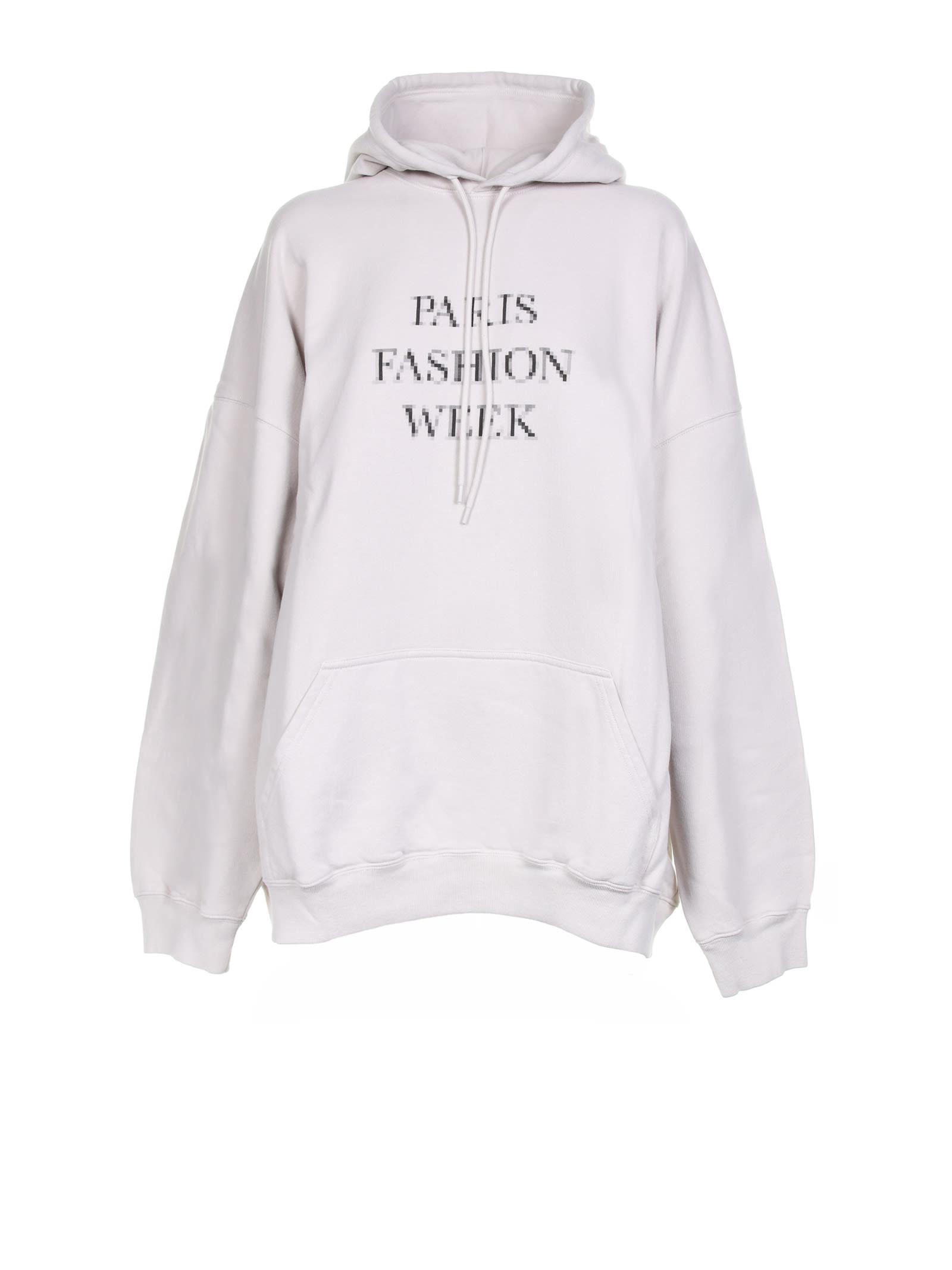 Balenciaga Clothing PRINT HOODIE