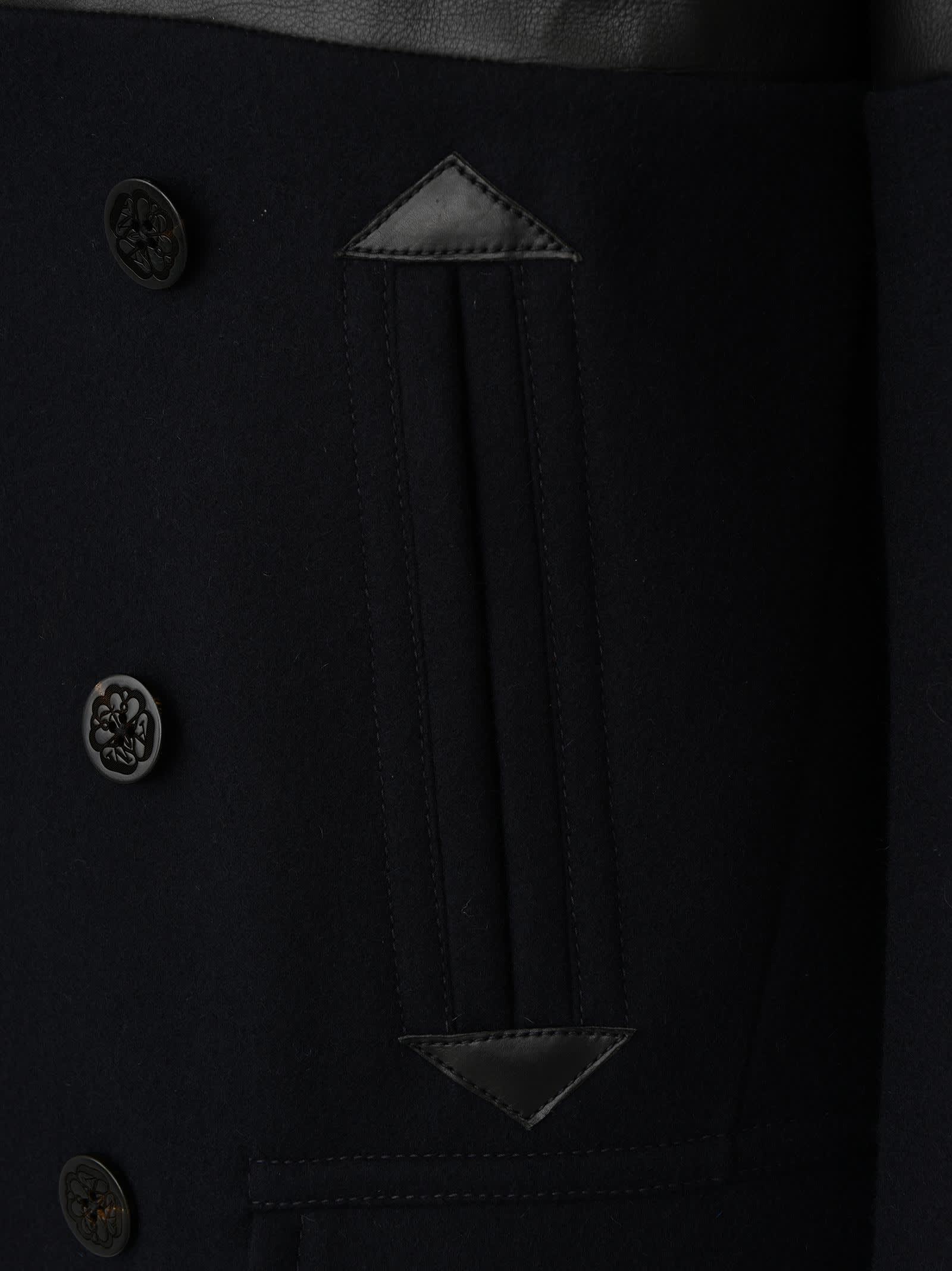 Alexander McQueen Alexander Mcqueen Coat Black 11026042