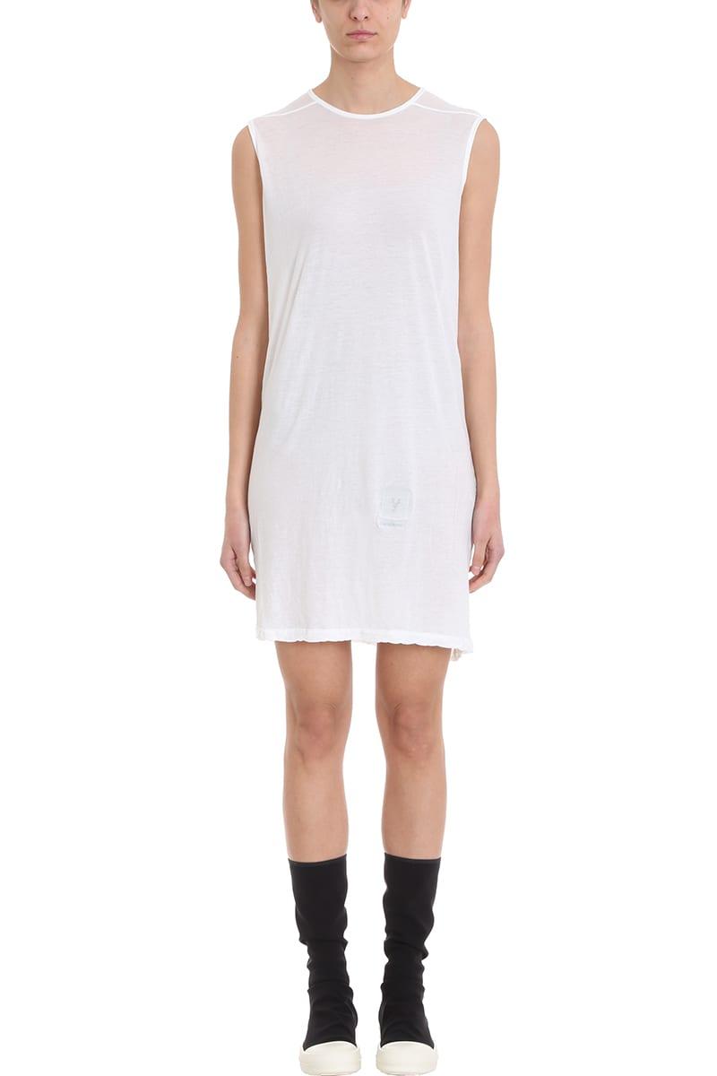 DRKSHDW White Tunic Dress