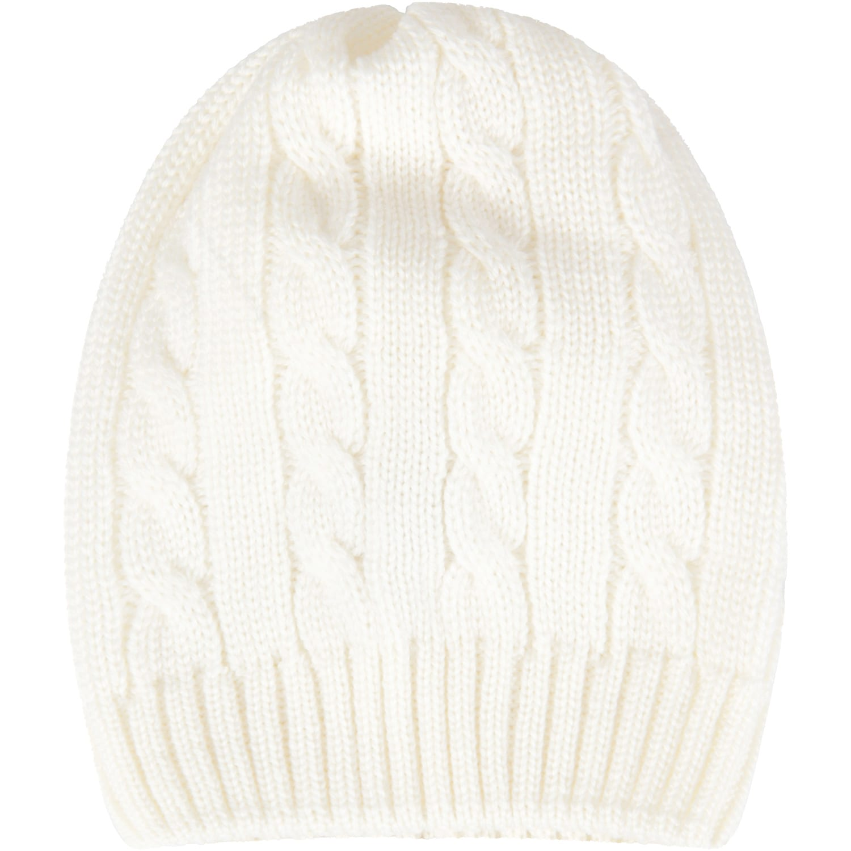 Ivory Hat For Babykid