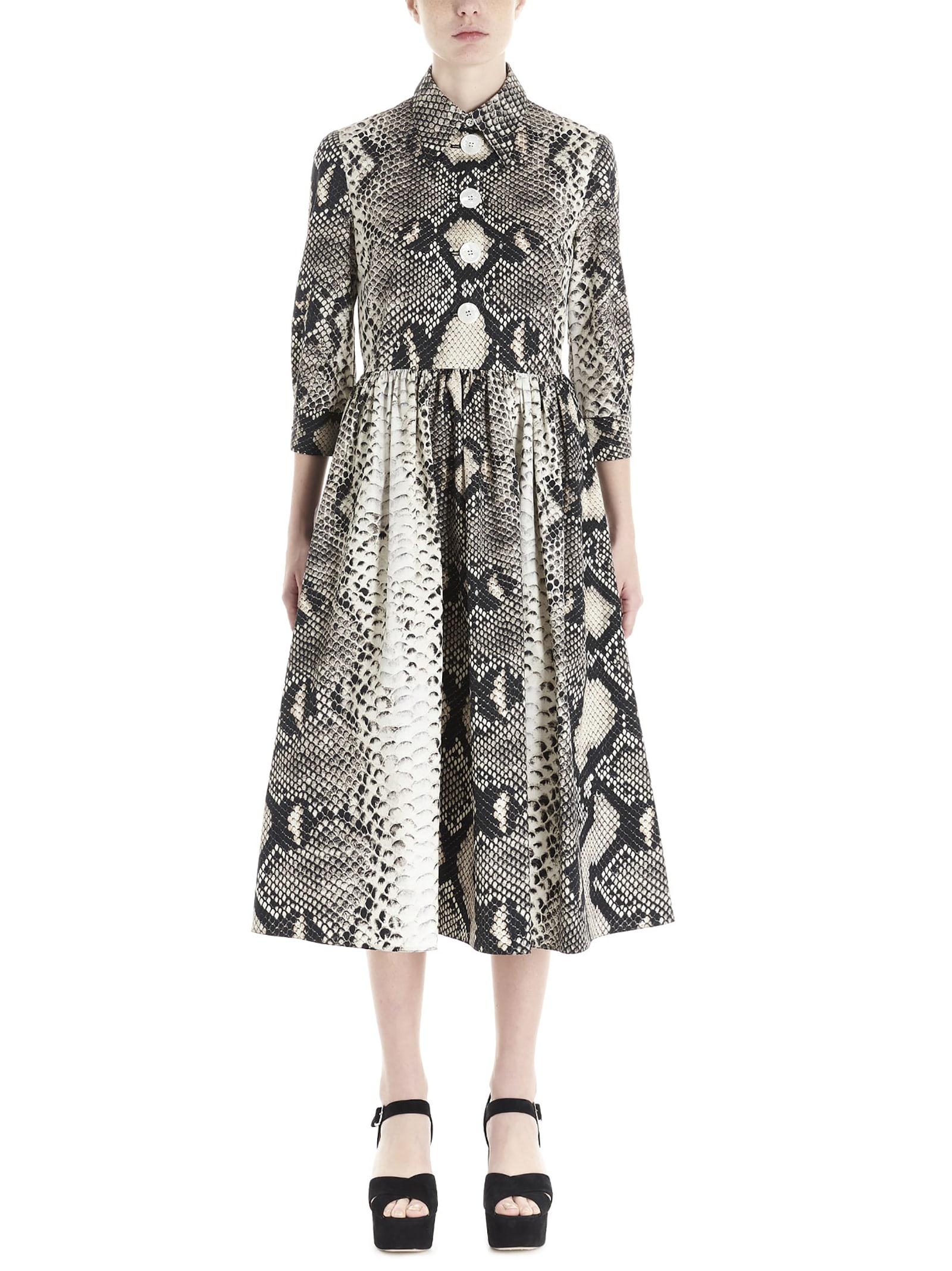 Buy Prada pitone Dress online, shop Prada with free shipping