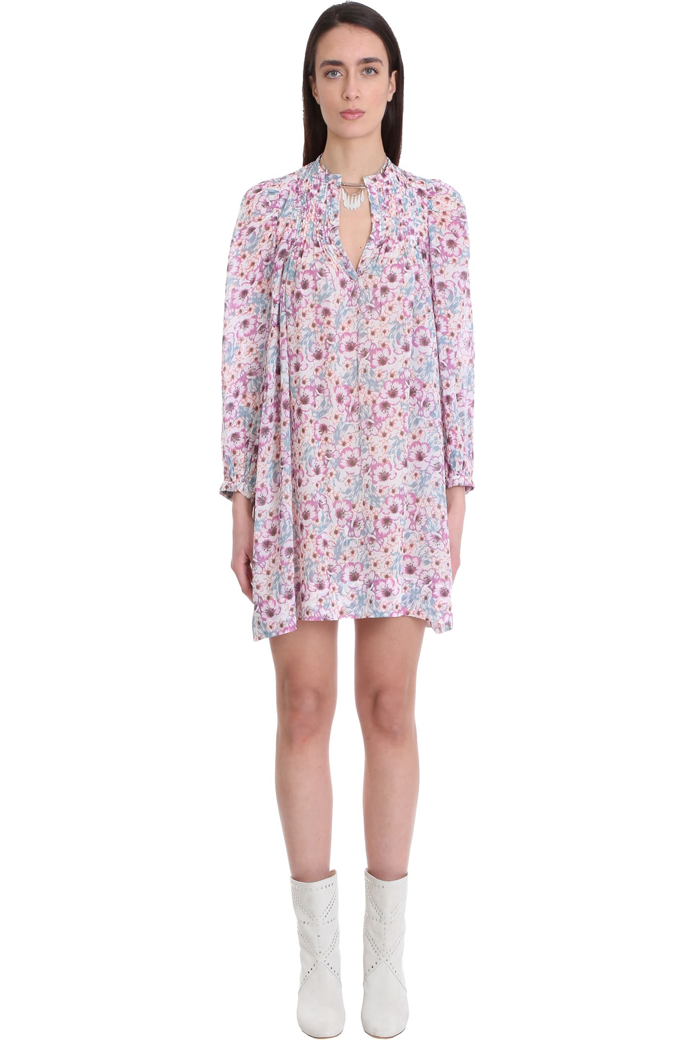 Isabel Marant Étoile DRESS IN ROSE-PINK COTTON