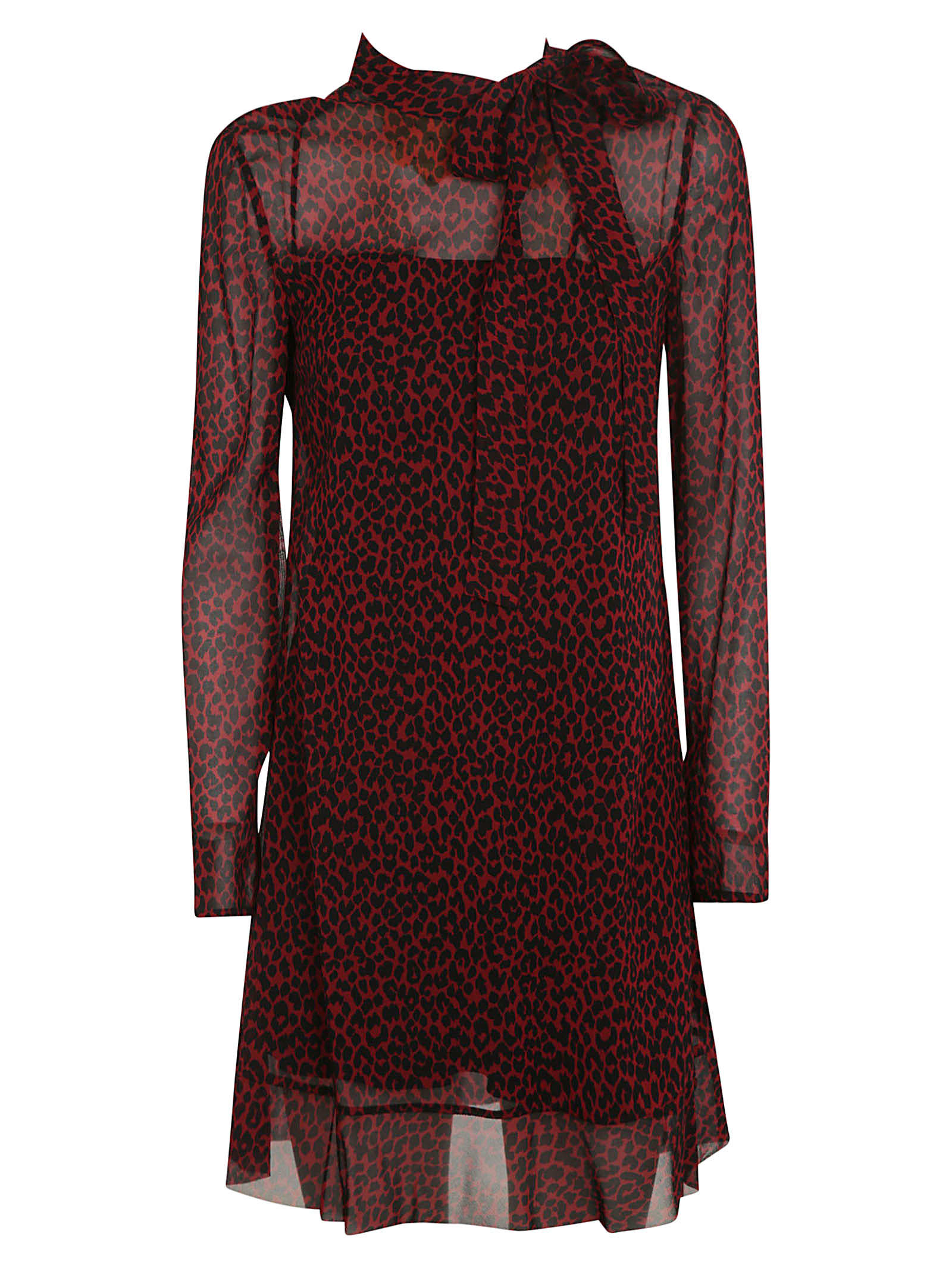 Buy RED Valentino All Over Print Dress online, shop RED Valentino with free shipping
