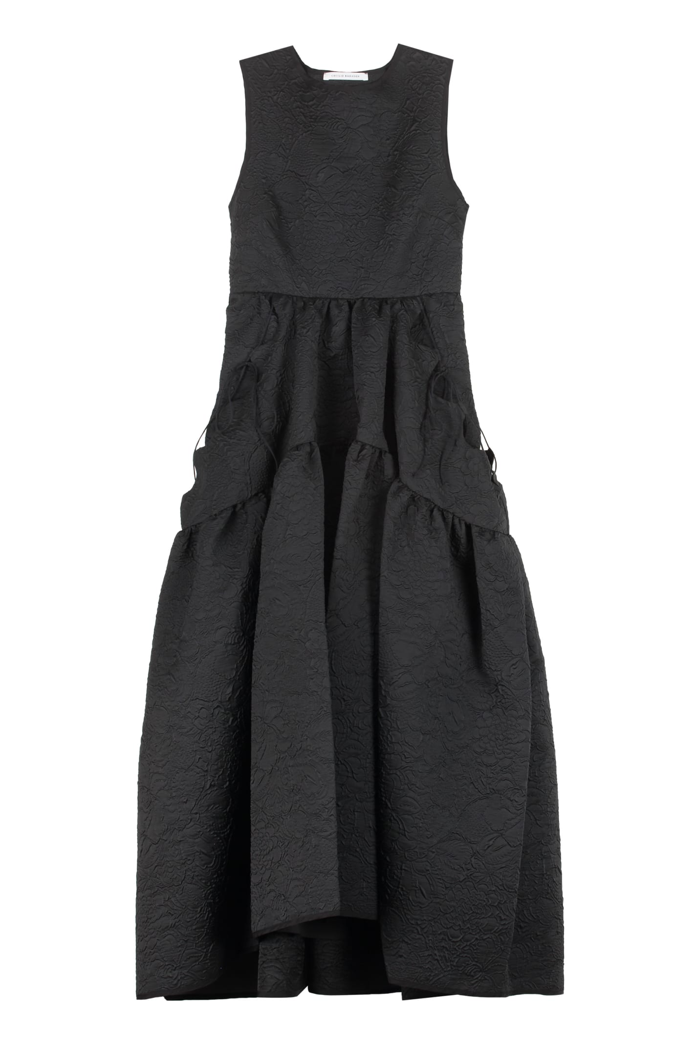 Buy Cecilie Bahnsen Hilda Gathered Waist Dress online, shop Cecilie Bahnsen with free shipping