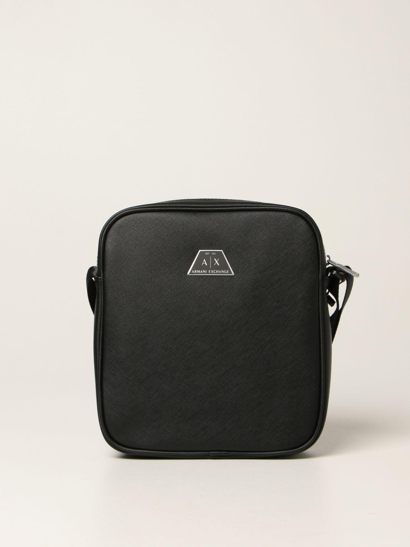 Armani Exchange Shoulder Bag Armani Exchange Bag In Saffiano Synthetic Leather